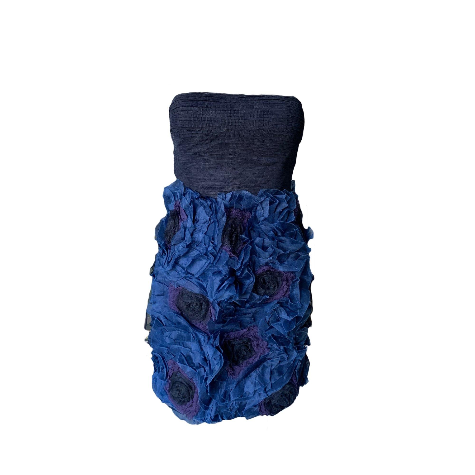 Robe bustier BCBG MAX AZRIA Bleu, bleu marine, bleu turquoise