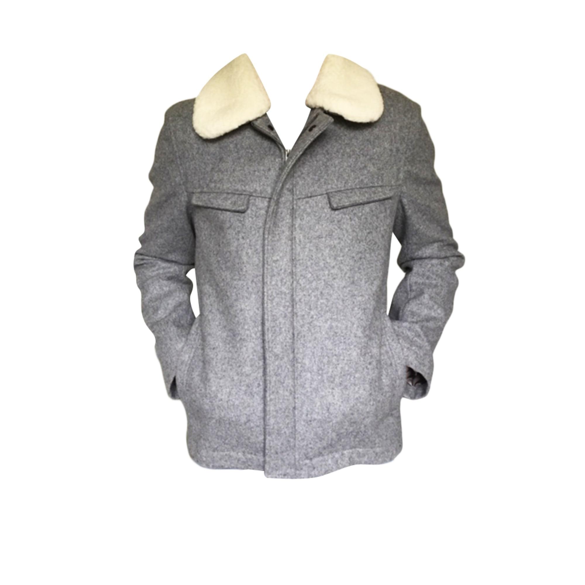 Zipped Jacket BONNE GUEULE Gray, charcoal