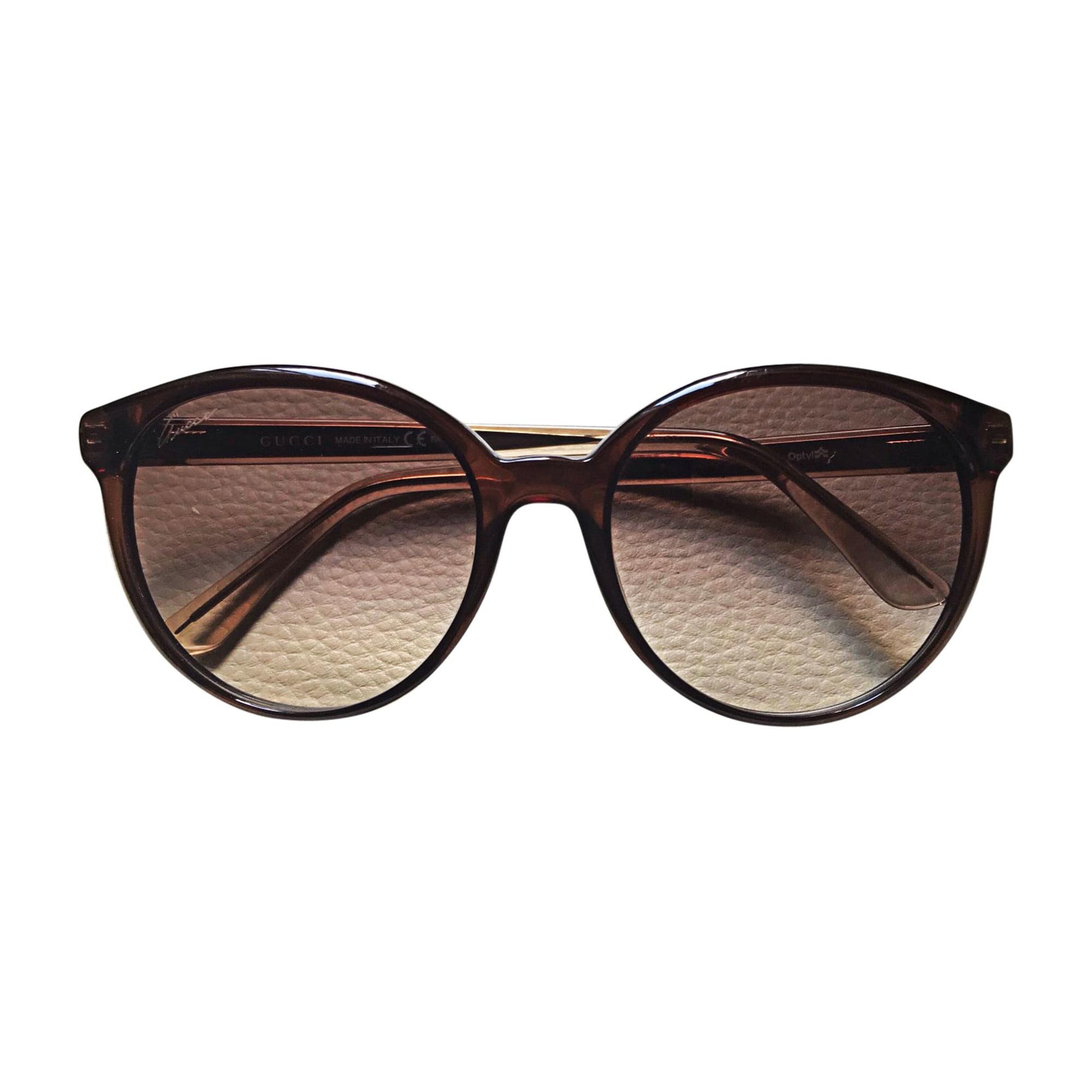 Sunglasses GUCCI Brown