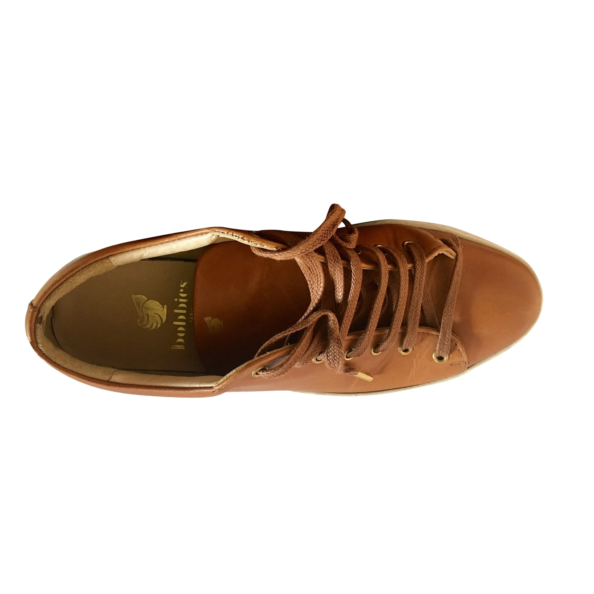 Sneakers BOBBIES Camel