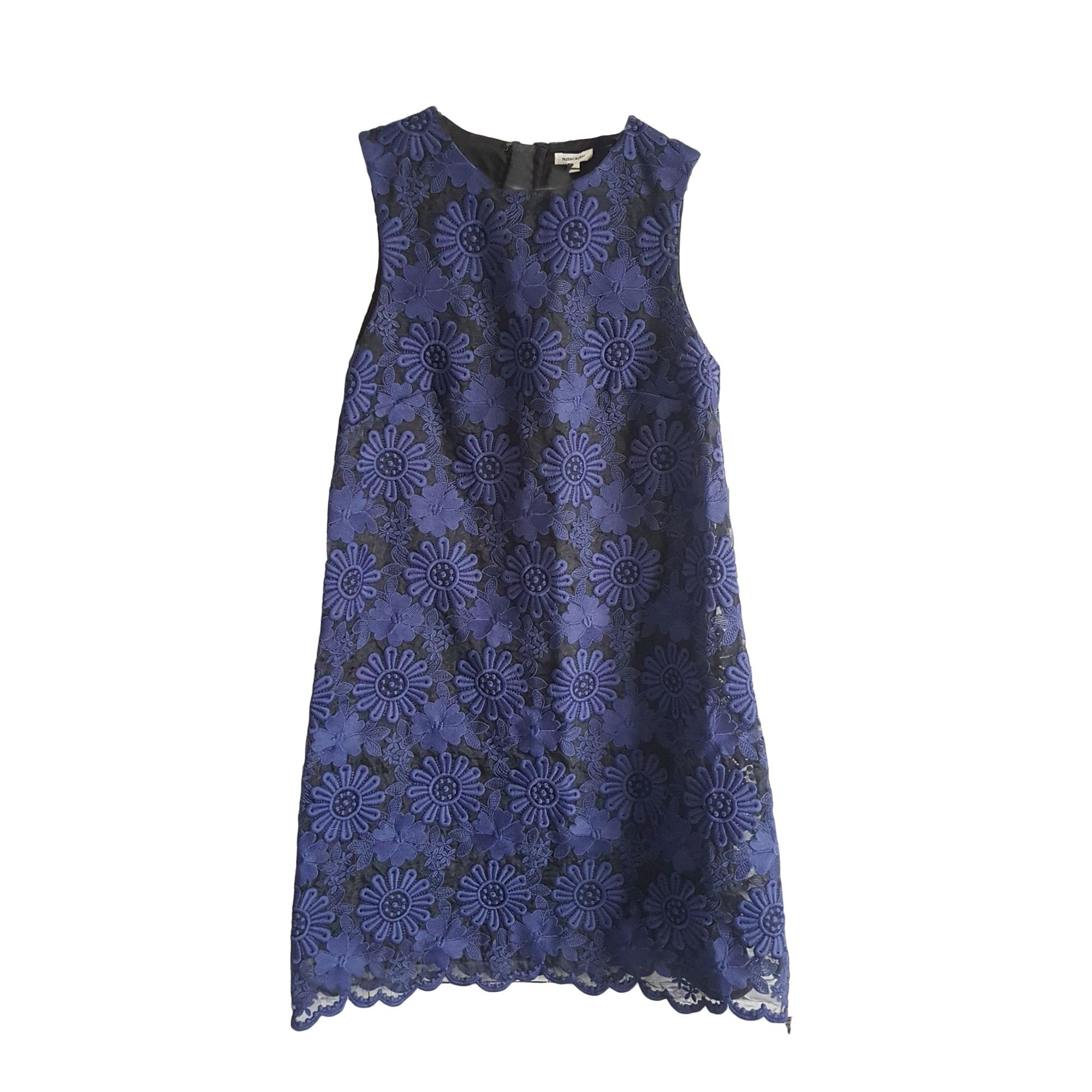 Mini-Kleid MANOUSH Blau, marineblau, türkisblau