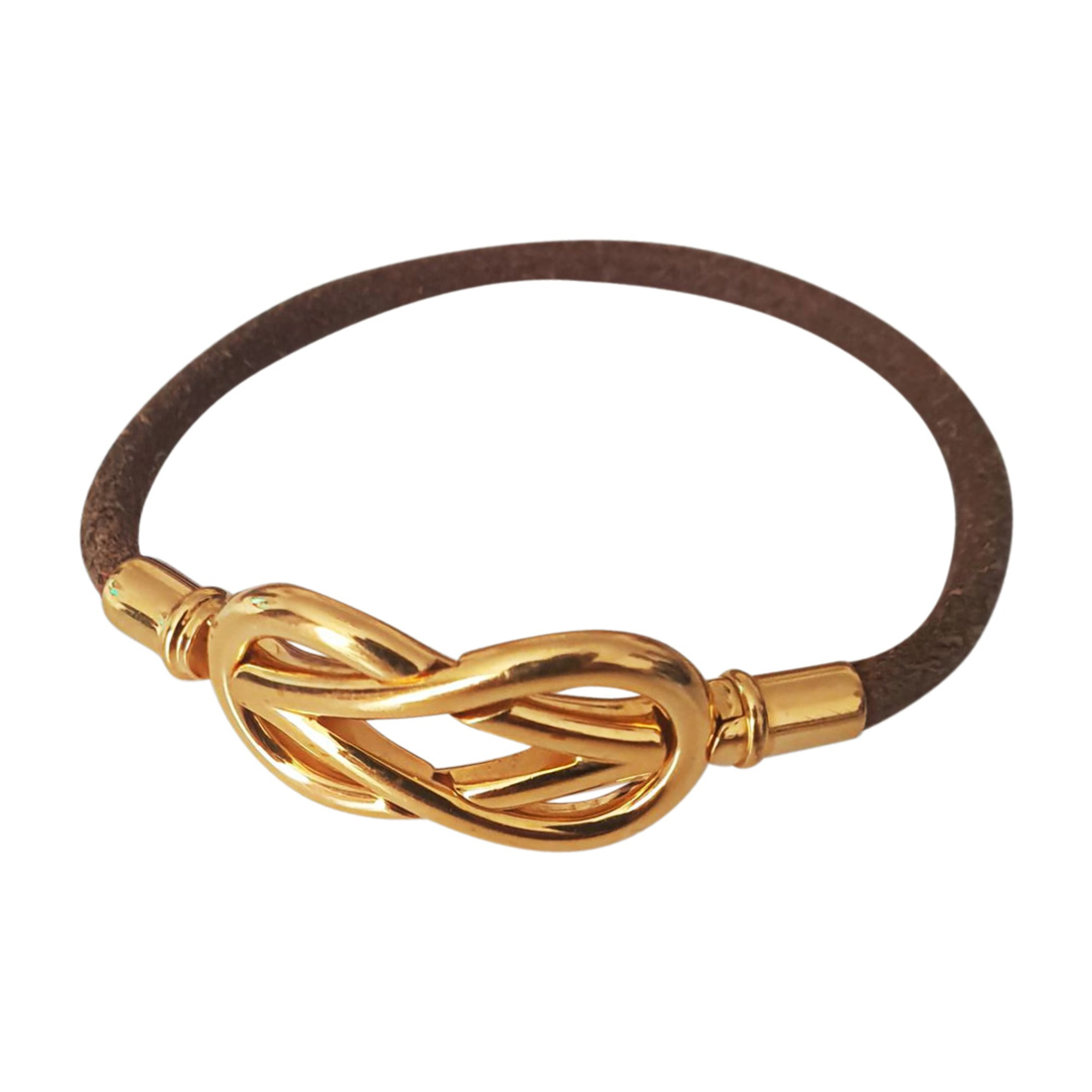 Bracelet HERMÈS Golden, bronze, copper