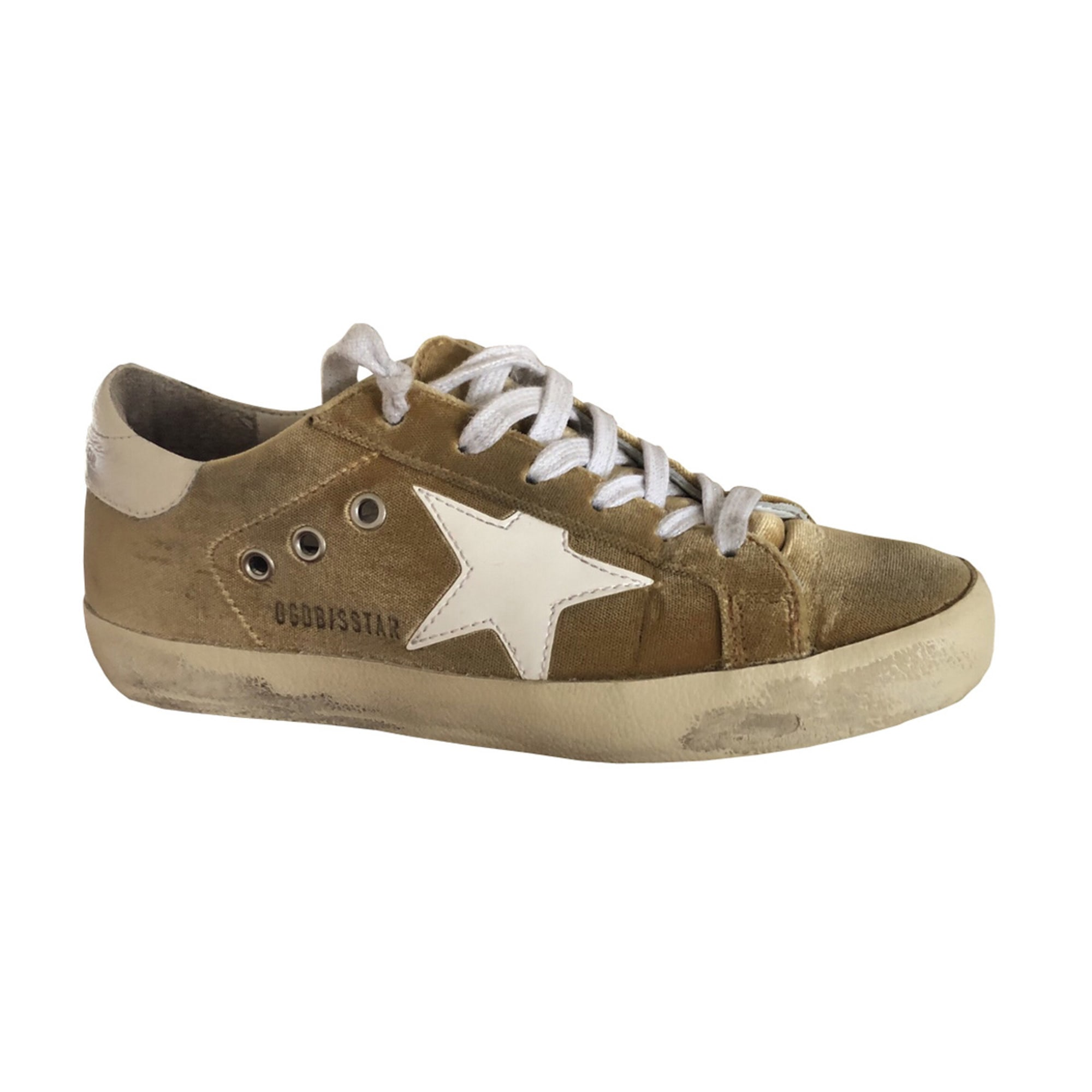 Baskets GOLDEN GOOSE Jaune