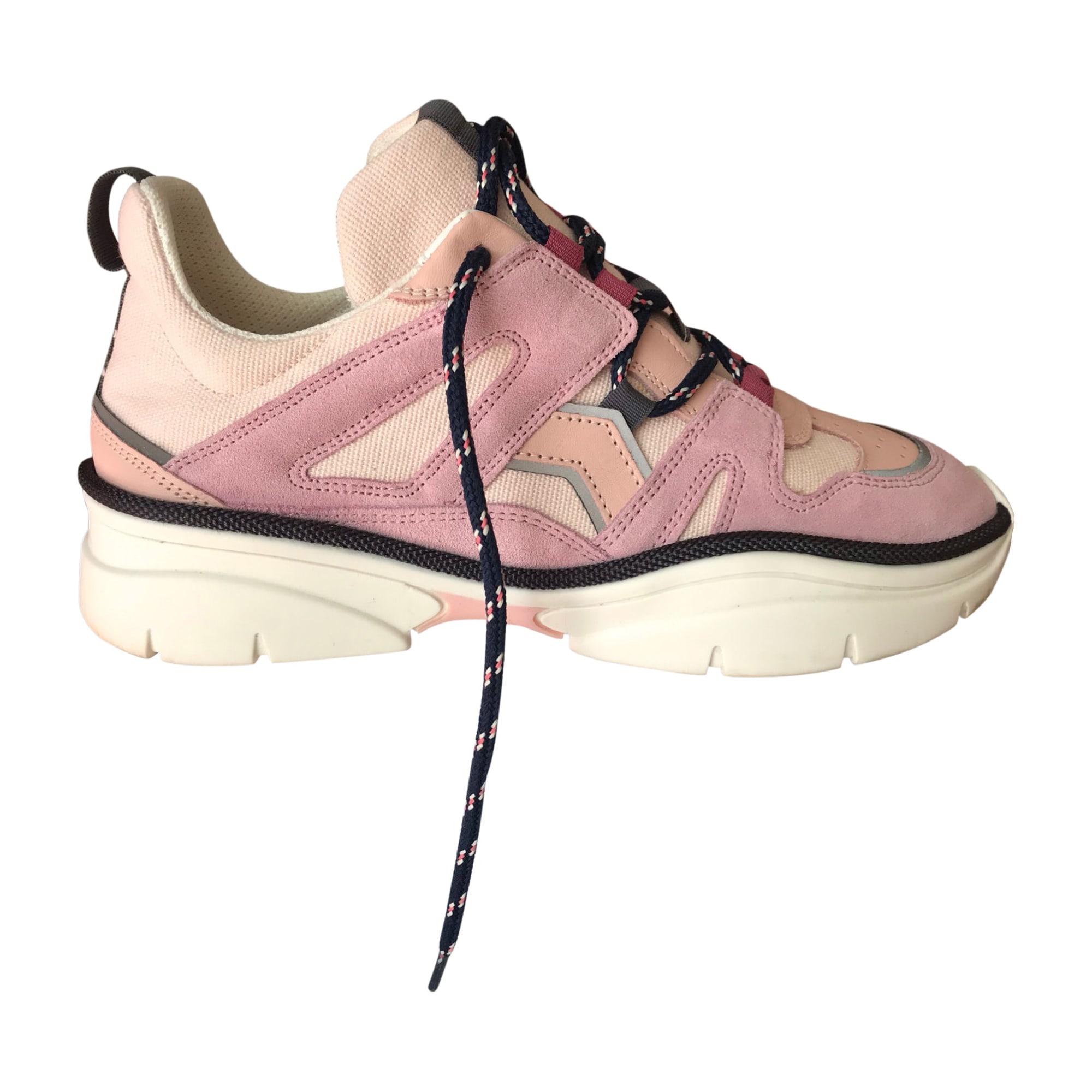 Sneakers ISABEL MARANT Pink, fuchsia, light pink