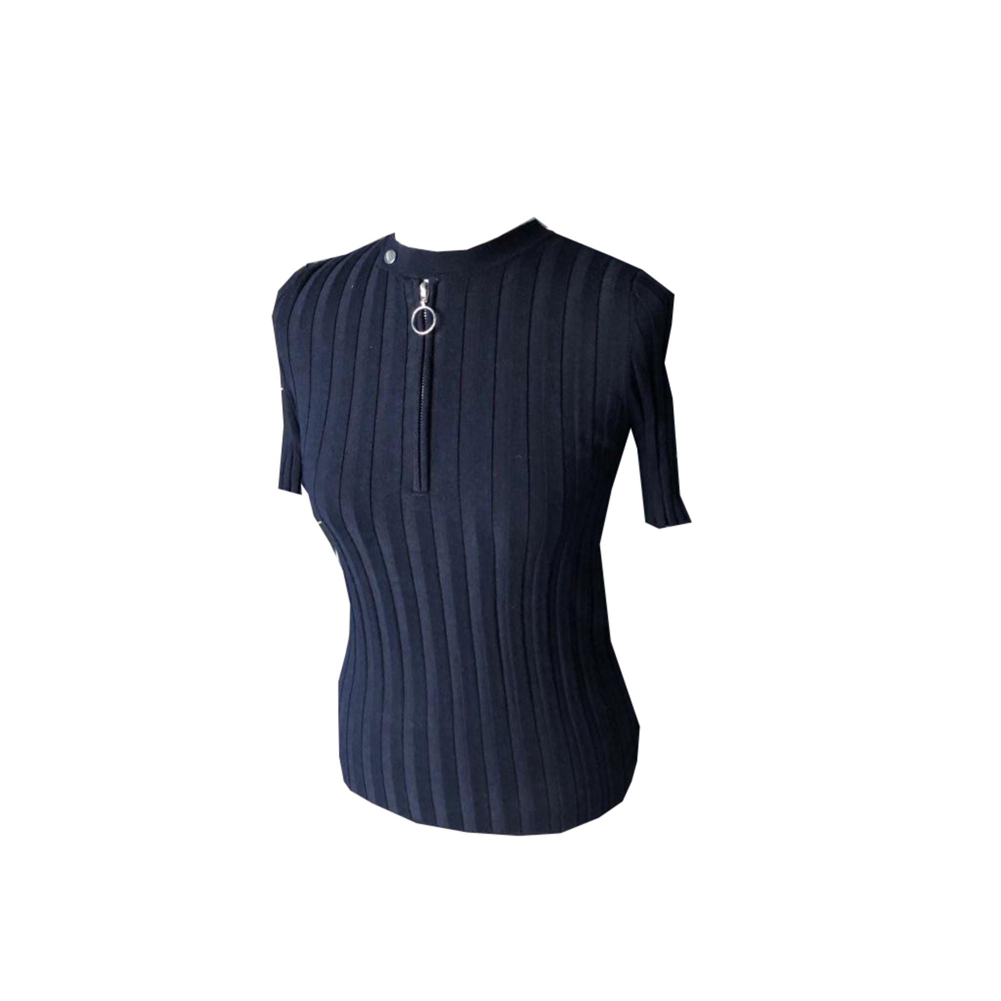 Tops, T-Shirt MAJE Blau, marineblau, türkisblau
