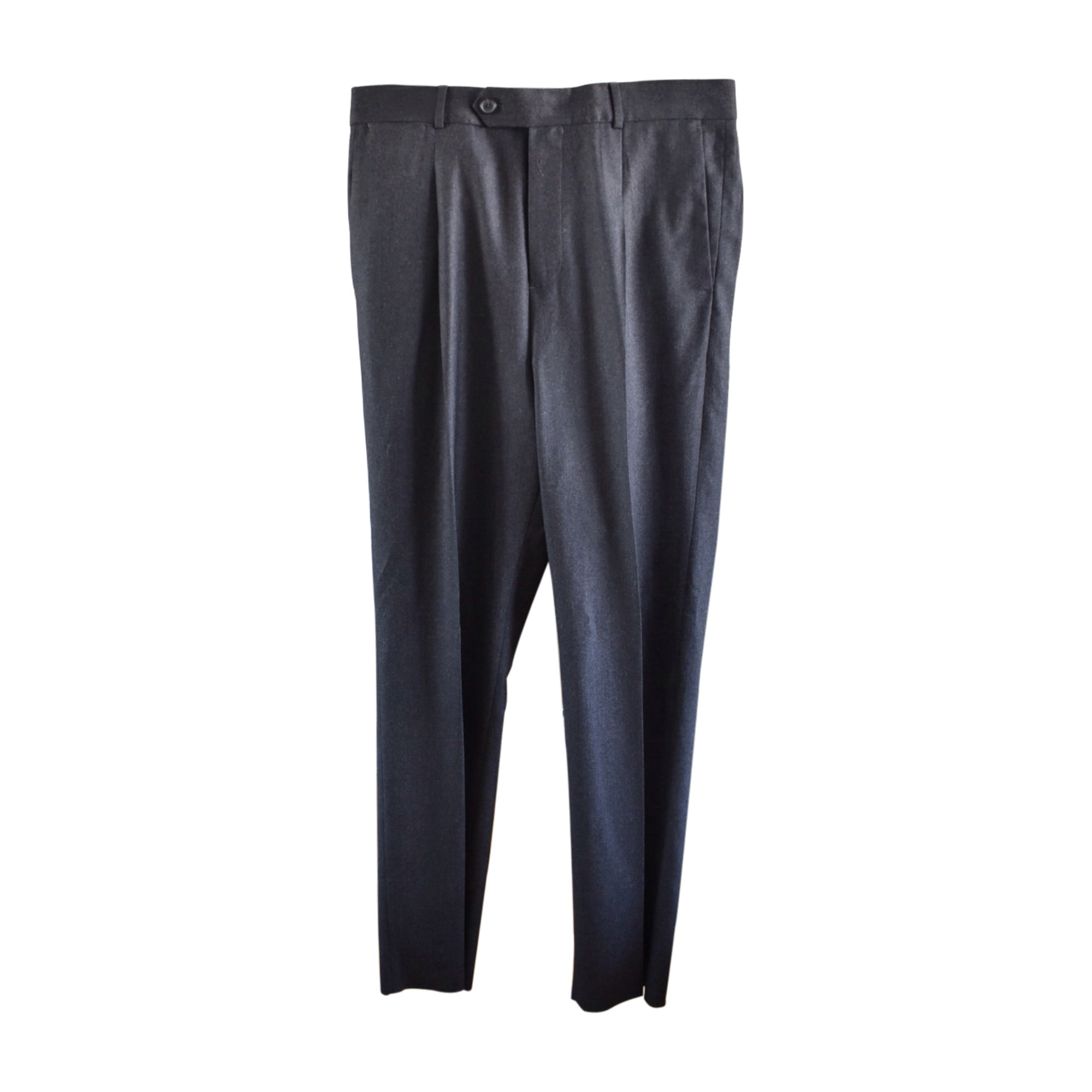 Straight Leg Pants LOUIS VUITTON Gray, charcoal