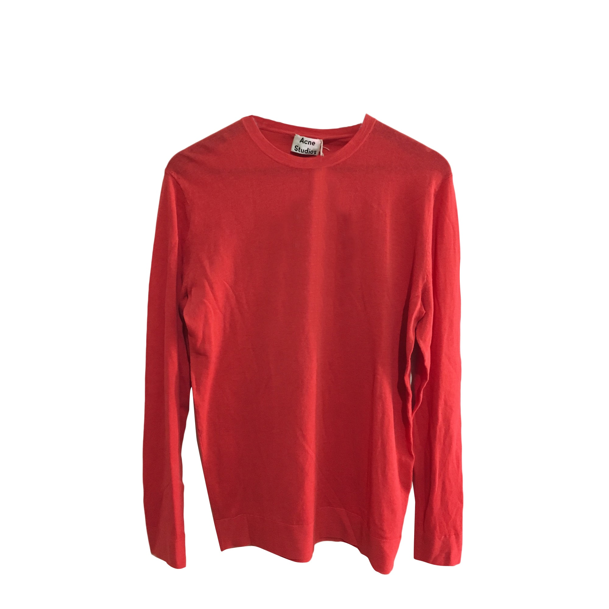 Pull ACNE Rouge, bordeaux