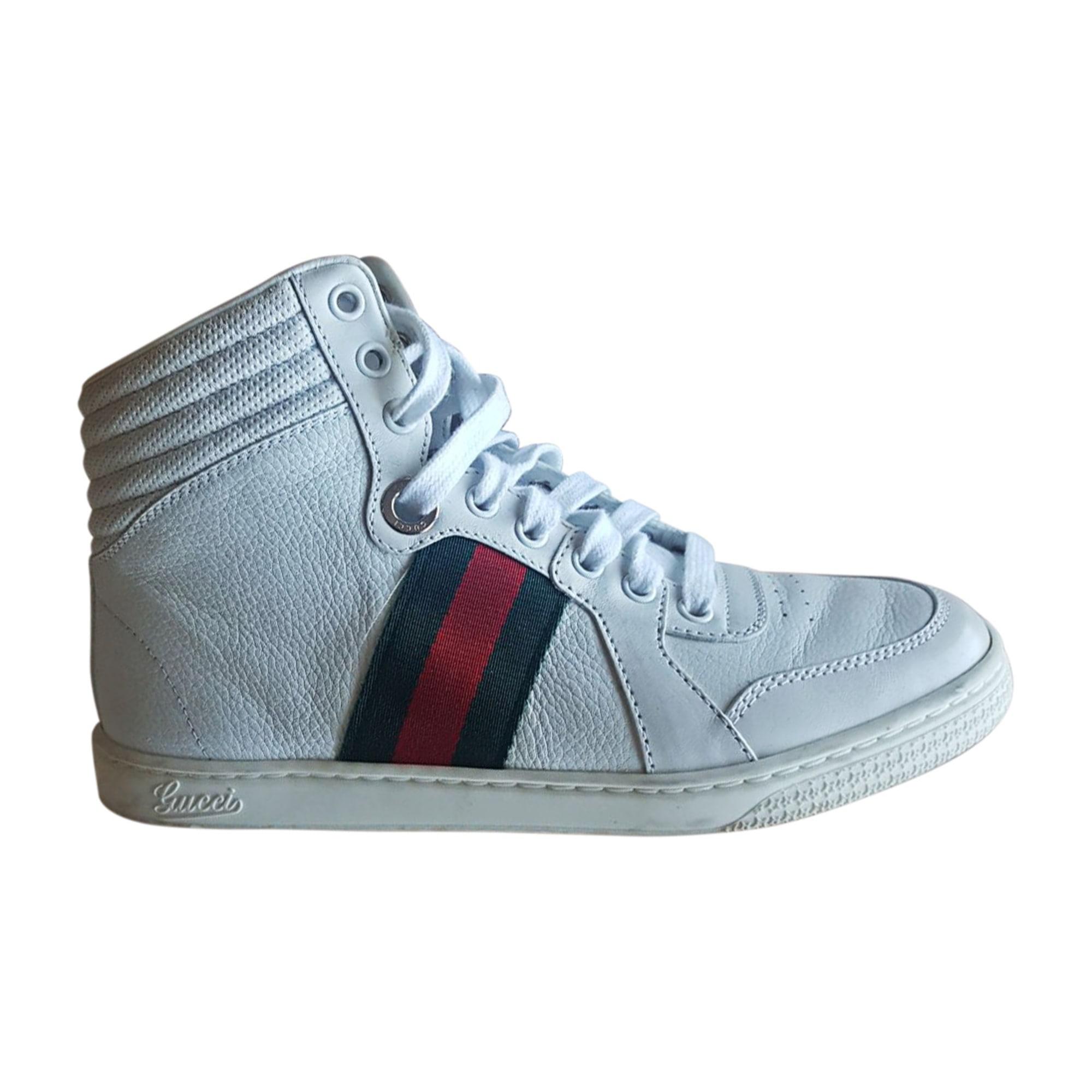 Sneakers GUCCI Weiß, elfenbeinfarben