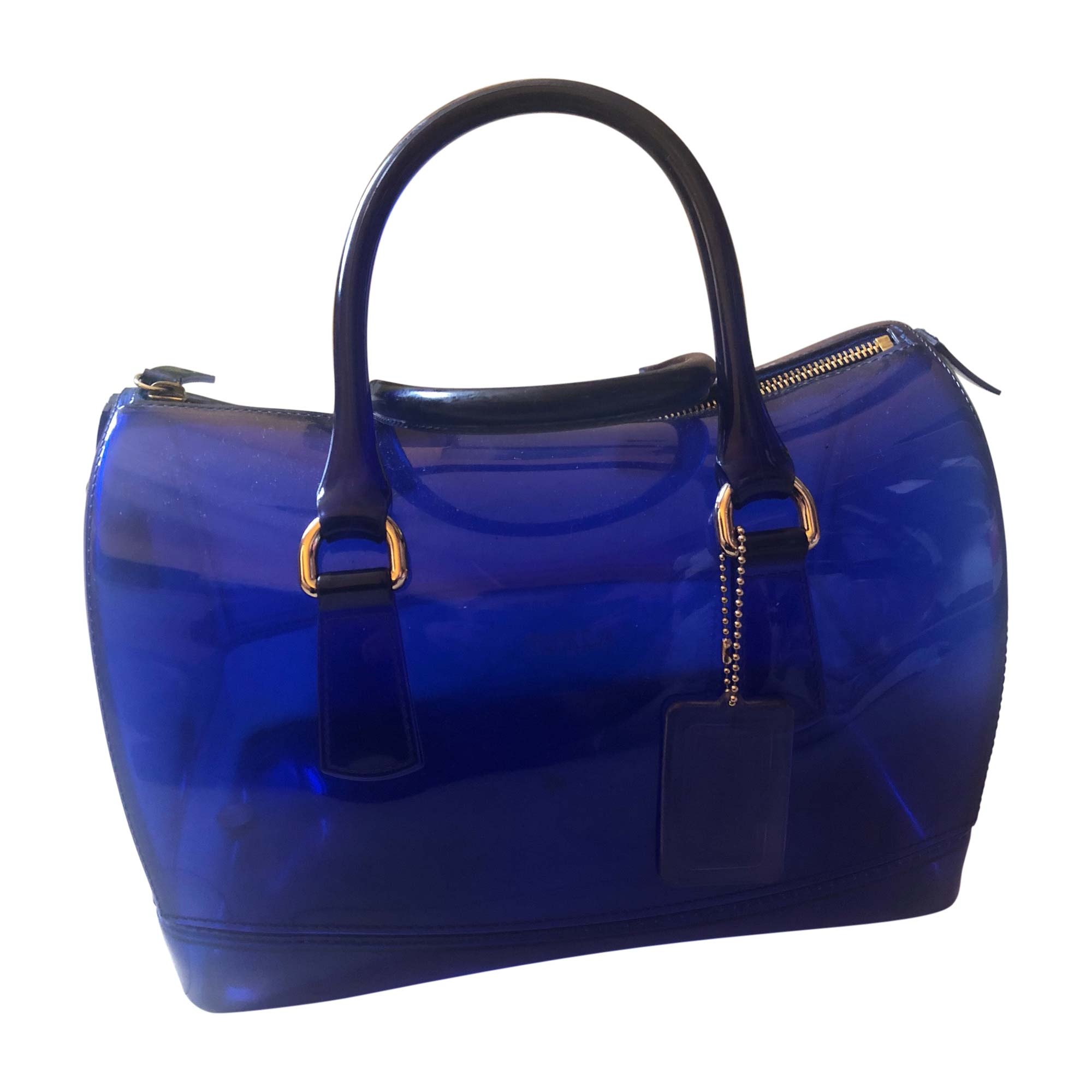 Leather Handbag FURLA Blue, navy, turquoise