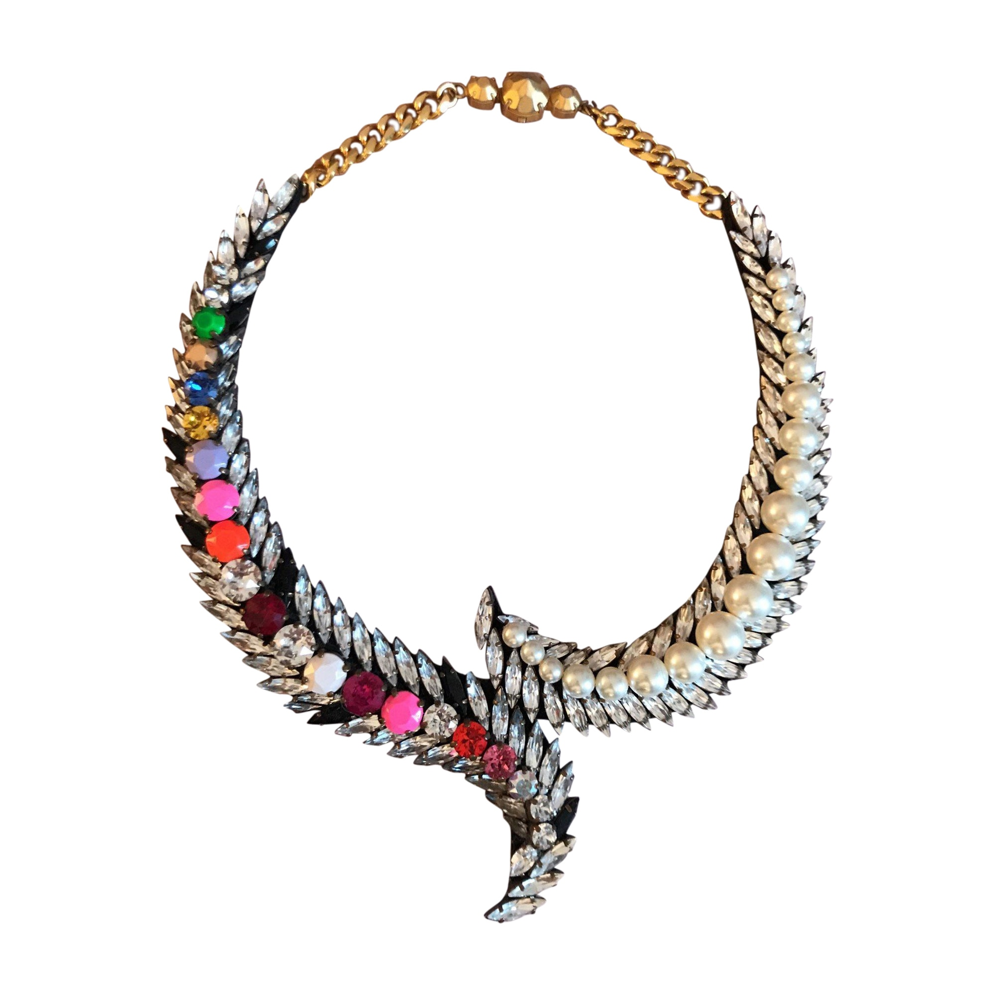 Necklace SHOUROUK Multicolor