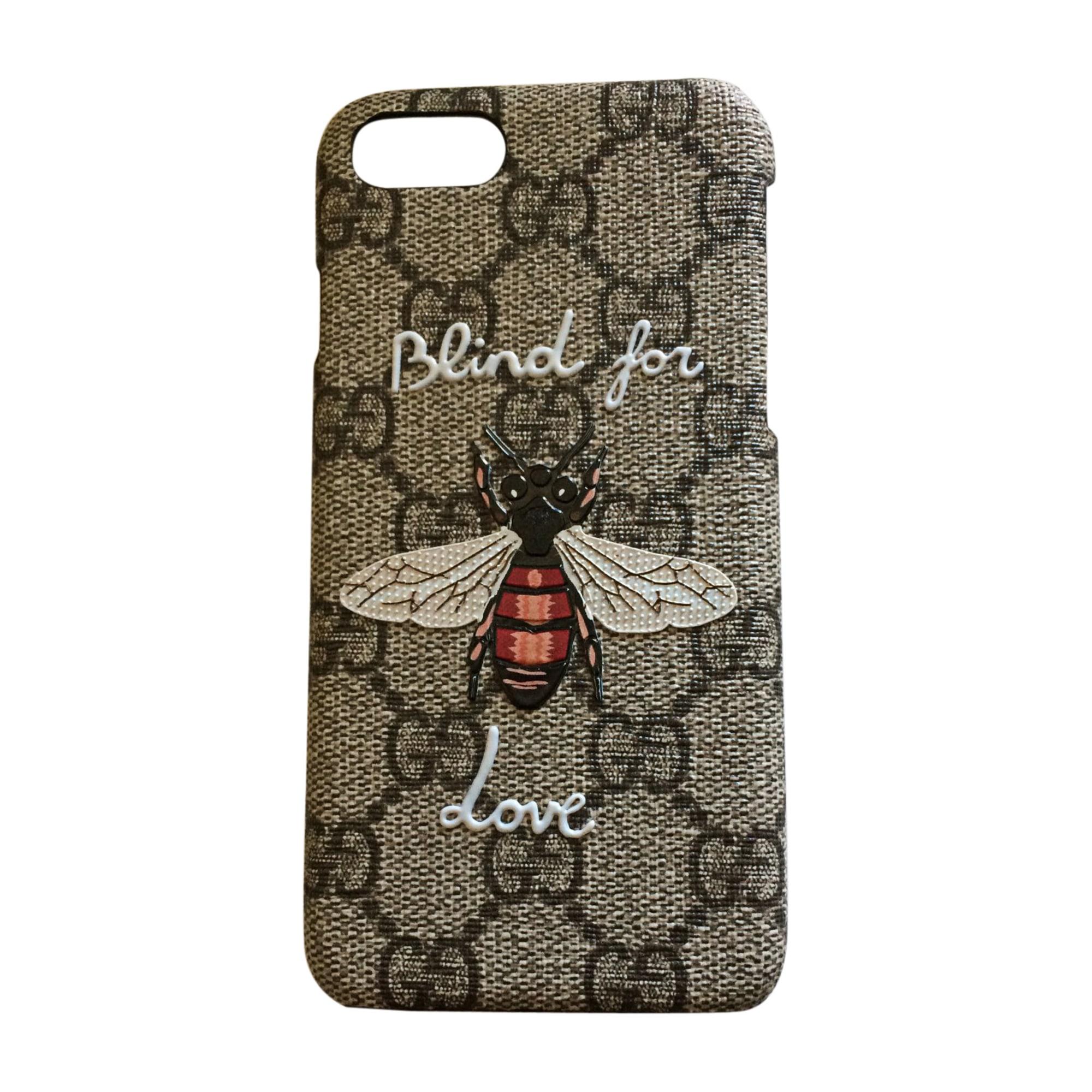 iPhone-Tasche GUCCI Grau, anthrazit