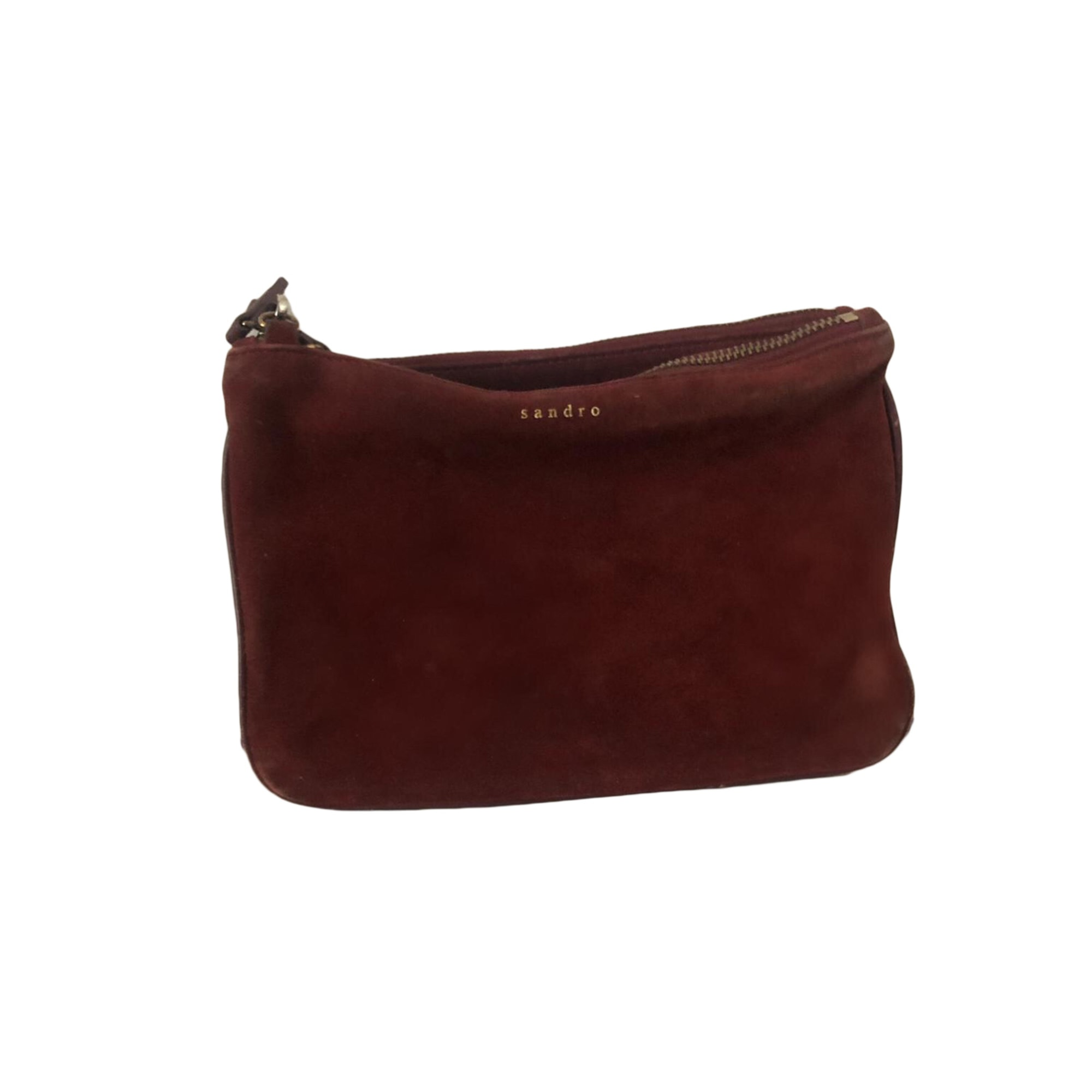 Clutch SANDRO Red, burgundy