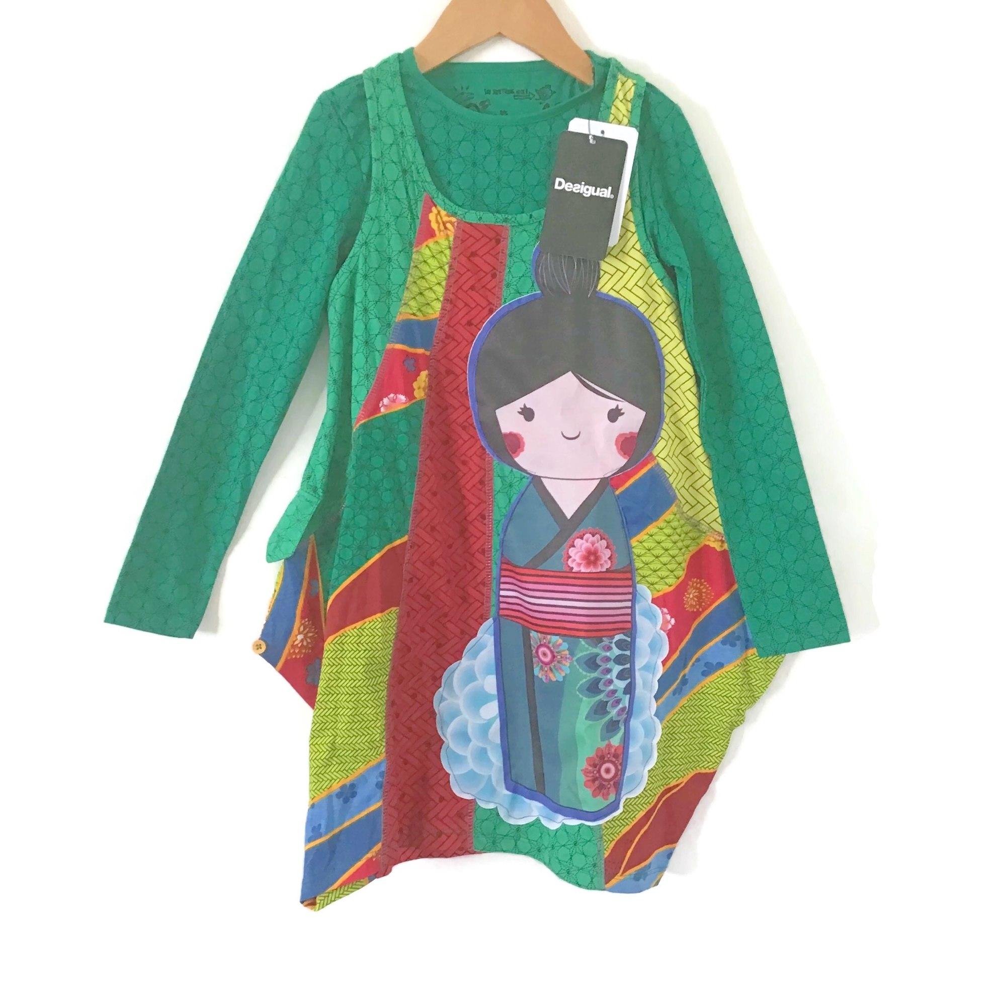 Kleid DESIGUAL Grün