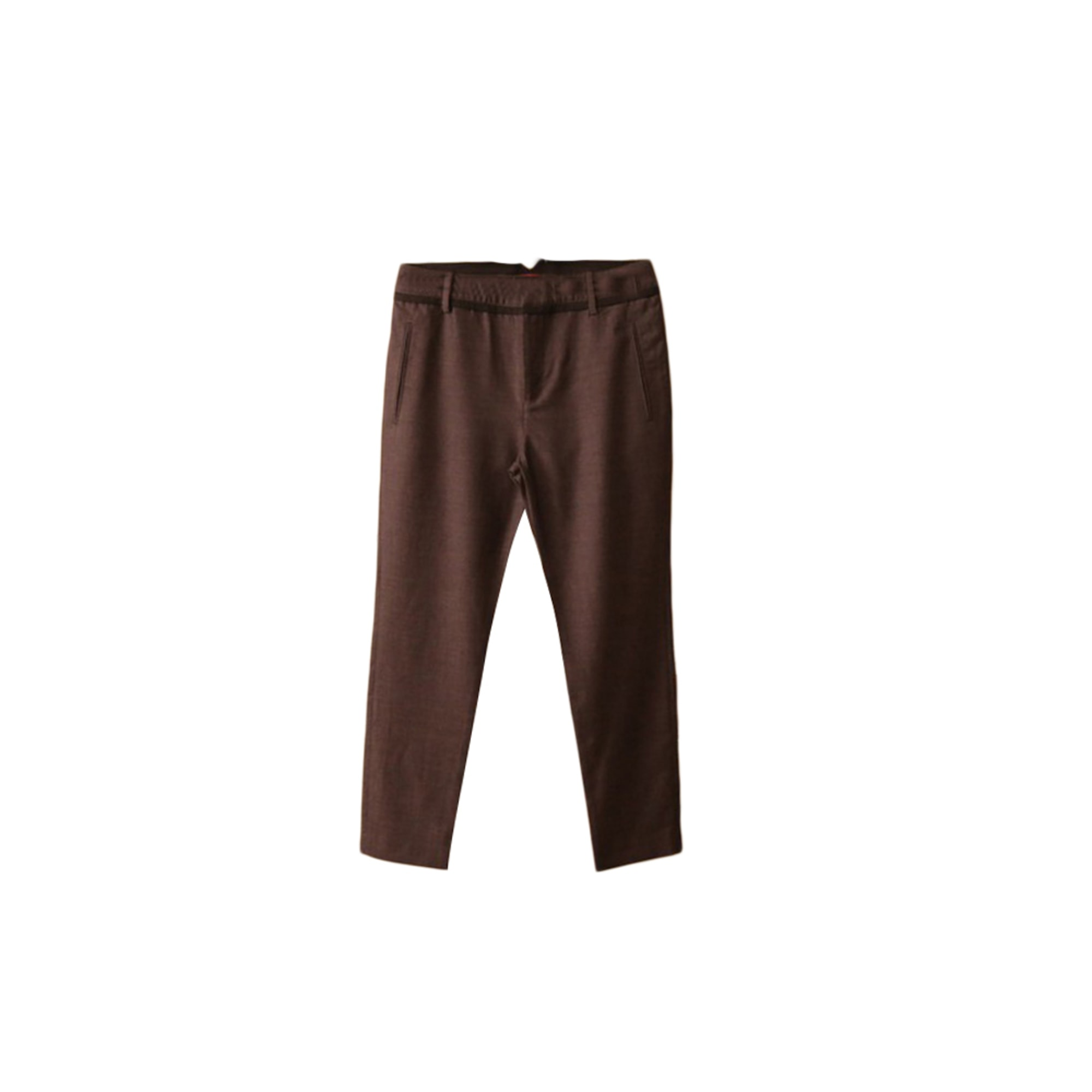 Pantalon slim, cigarette COMPTOIR DES COTONNIERS Gris, anthracite