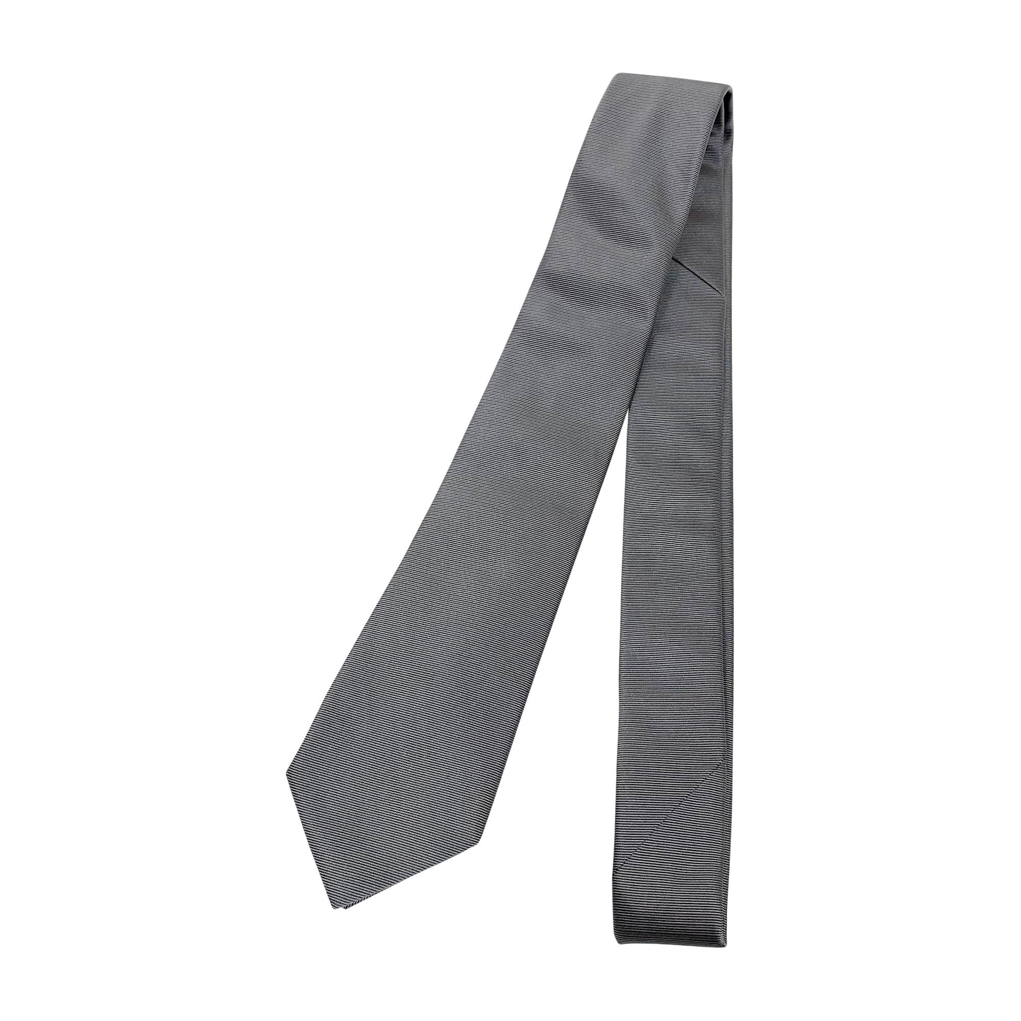 Cravate GIVENCHY Argenté, acier