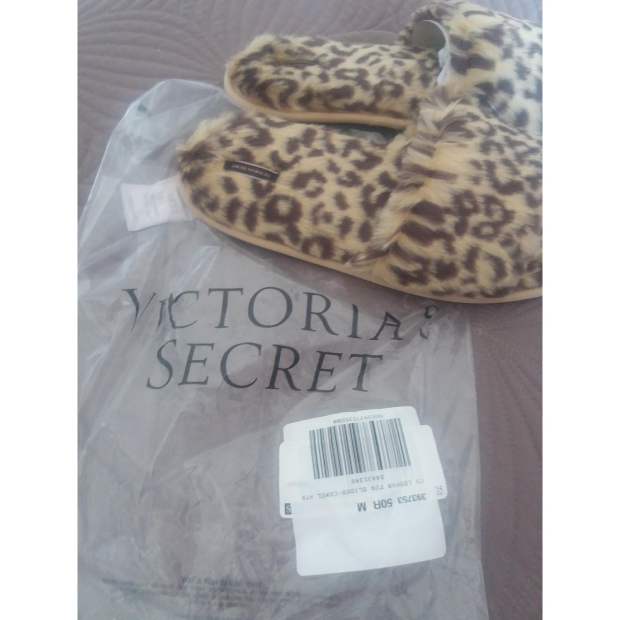 Chaussons & pantoufles VICTORIA'S SECRET leopard