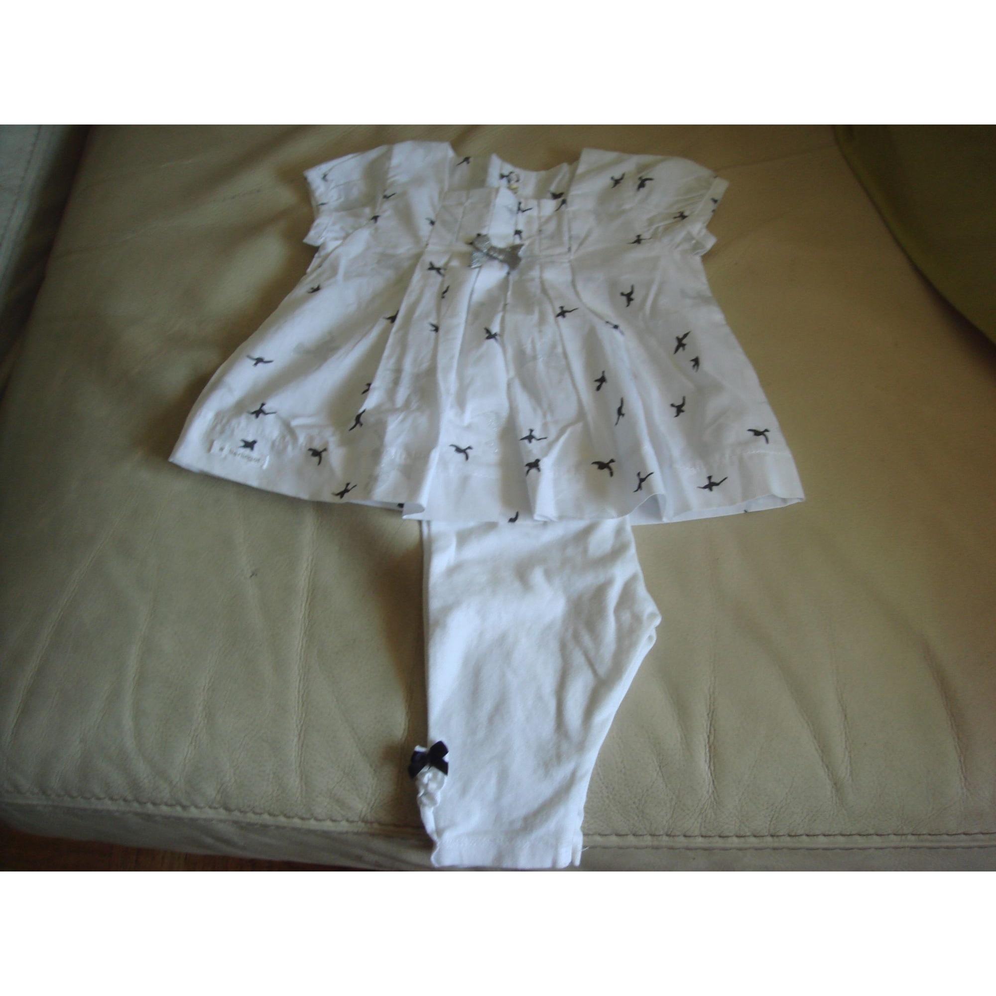 Ensemble & Combinaison pantalon BERLINGOT Blanc, blanc cassé, écru