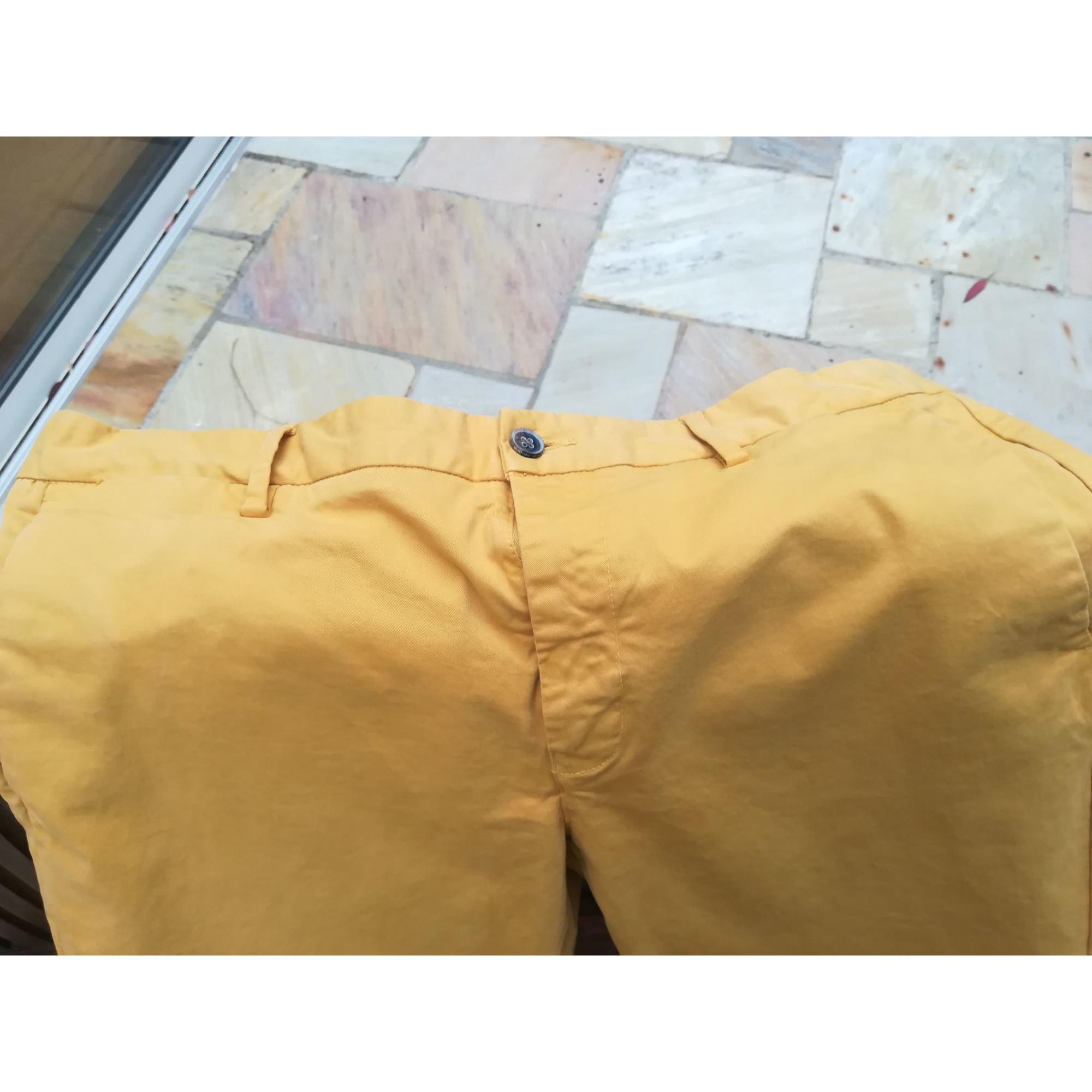 Pantalon droit BURTON Jaune