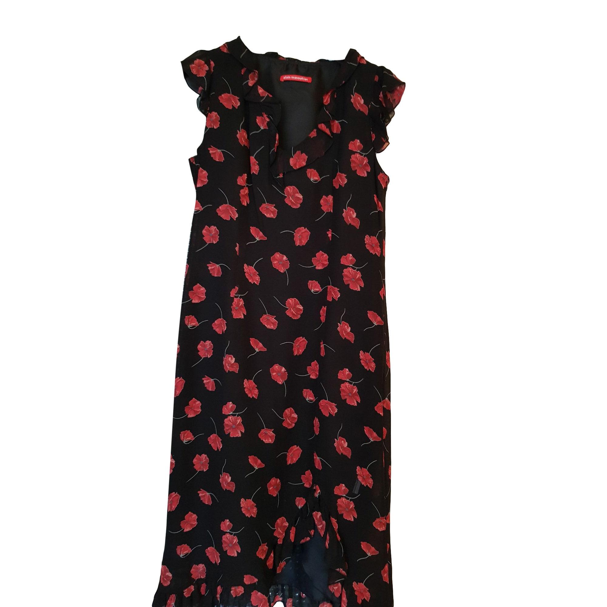 Mini-Kleid ALAIN MANOUKIAN Schwarz