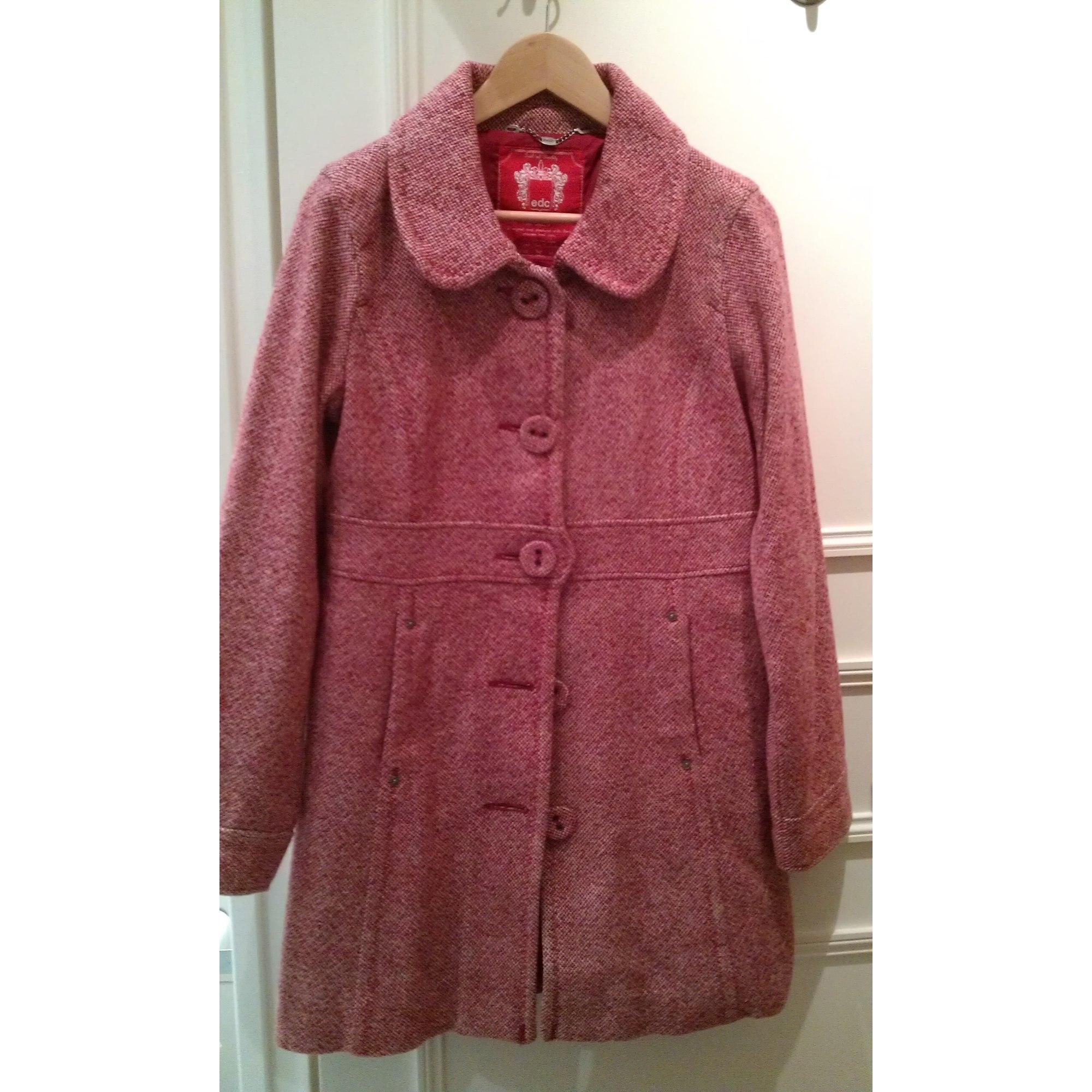 Manteau ESPRIT 38 (M, T2) rouge vendu par Le dressing d anabelle ... 82f2b019db82