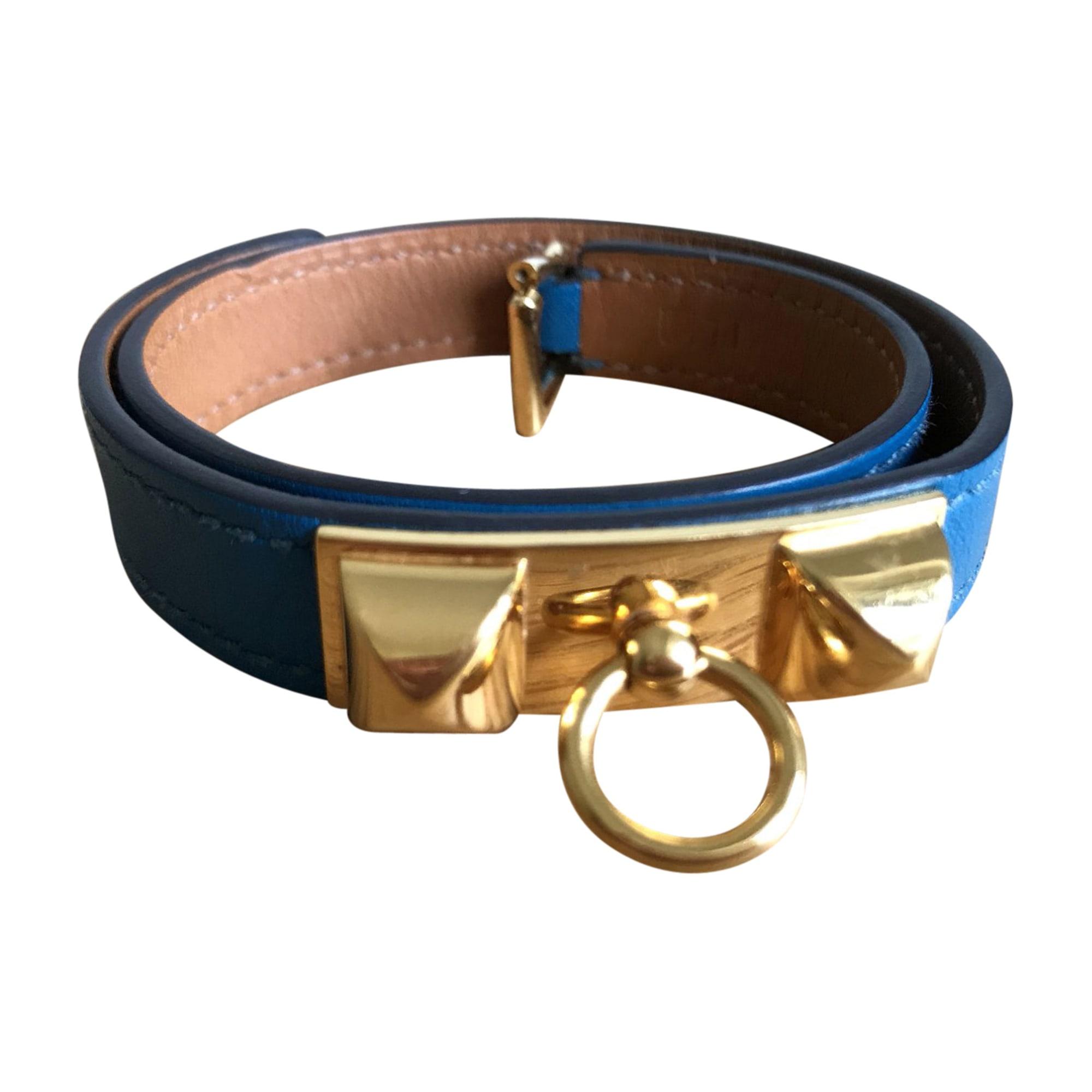 Bracelet HERMÈS Bleu, bleu marine, bleu turquoise