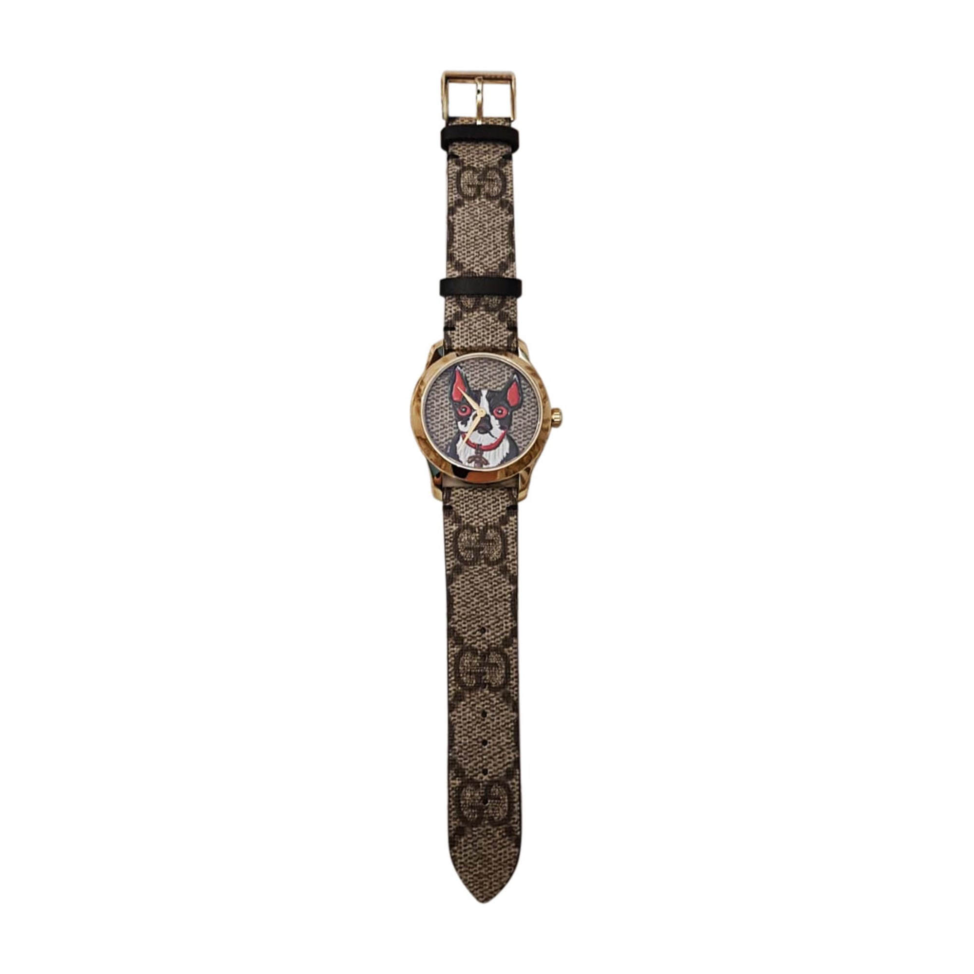Armbanduhr GUCCI Braun