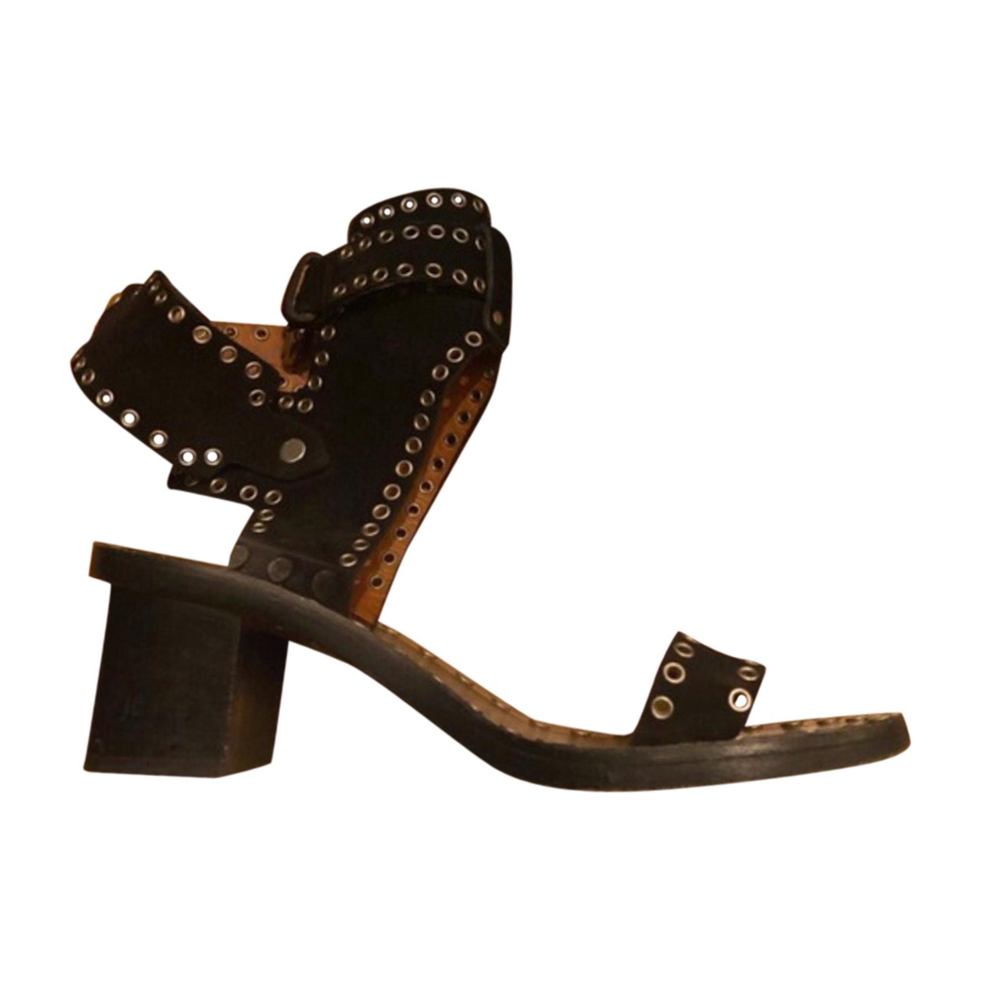 Sandales à talons ISABEL MARANT Noir