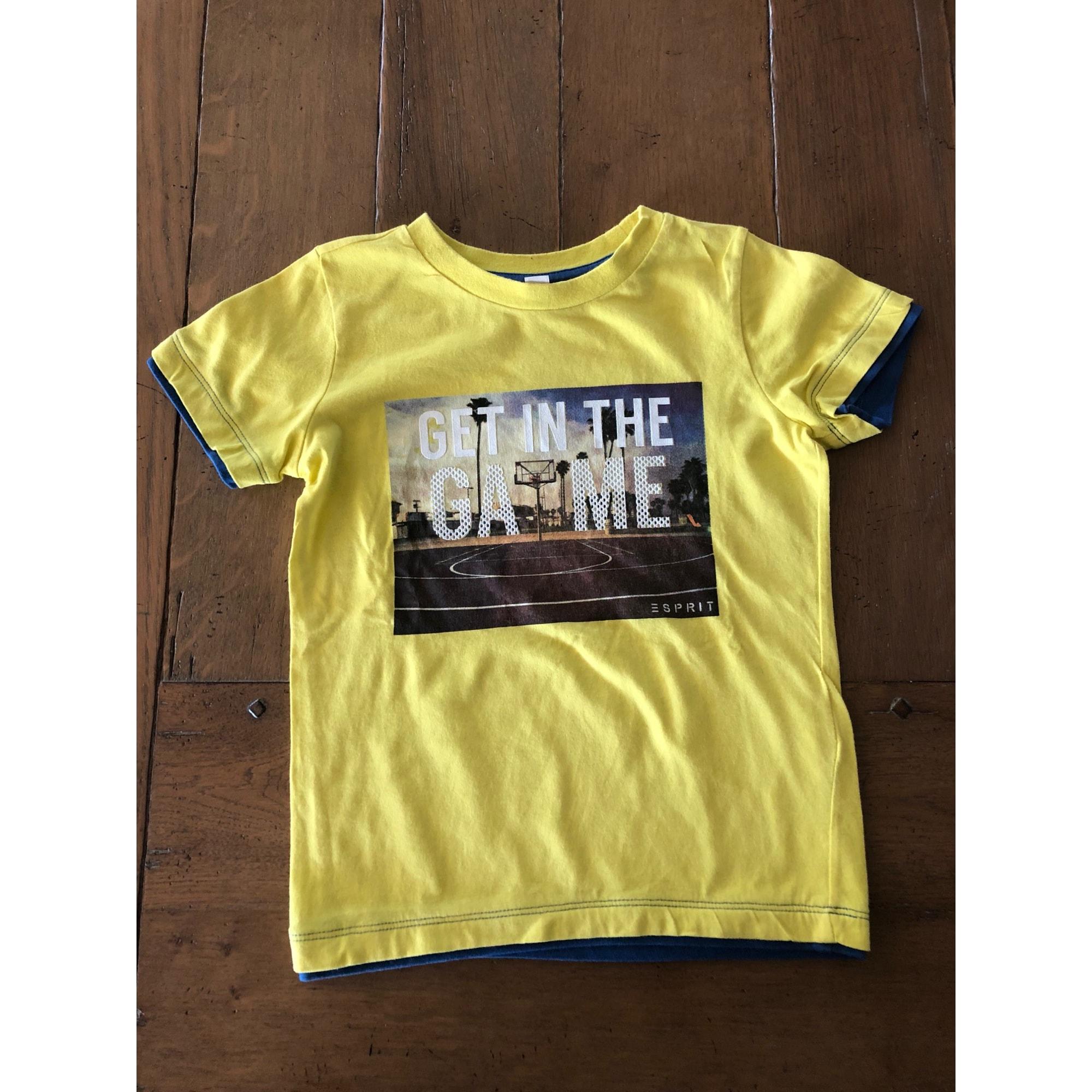 Tee-shirt ESPRIT Jaune