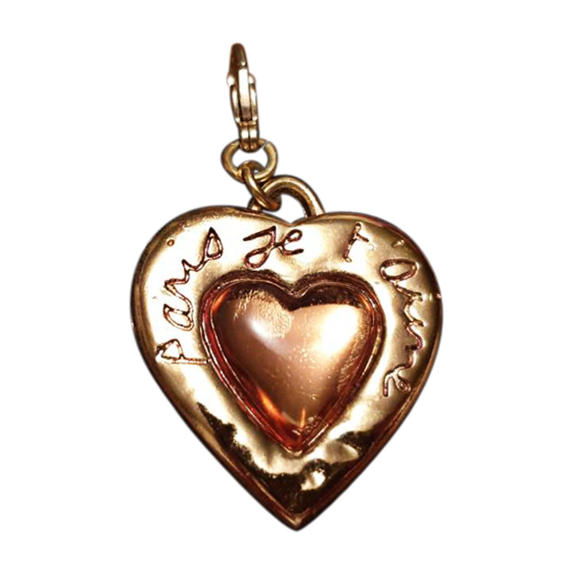 Anhänger, Halsketten mit Anhänger YVES SAINT LAURENT Gold, Bronze, Kupfer