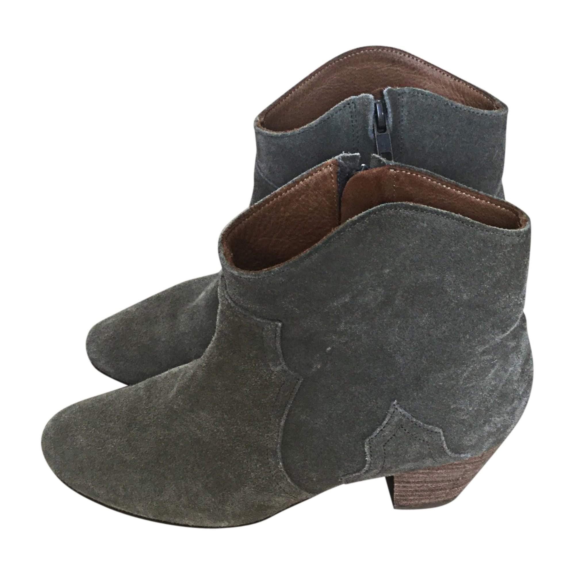 Bottines & low boots à talons ISABEL MARANT ETOILE Taupe