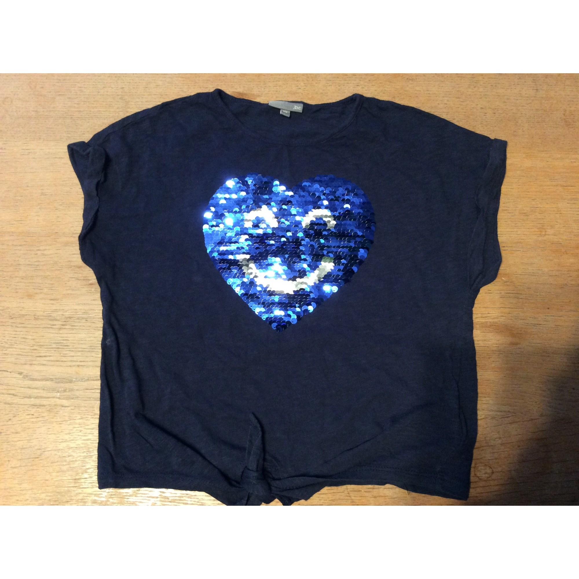 Top, Tee-shirt JBC Bleu, bleu marine, bleu turquoise