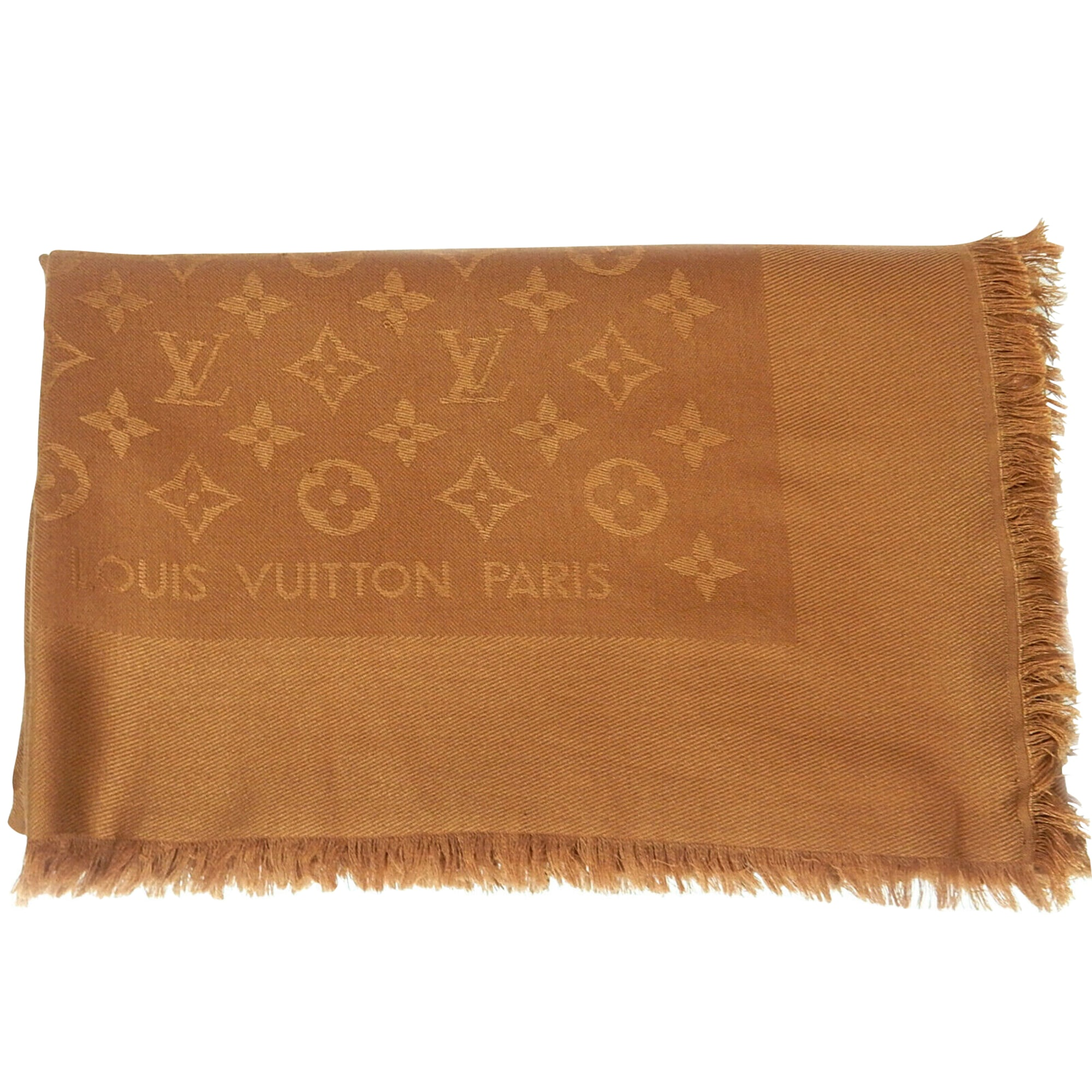 Châle LOUIS VUITTON Marron