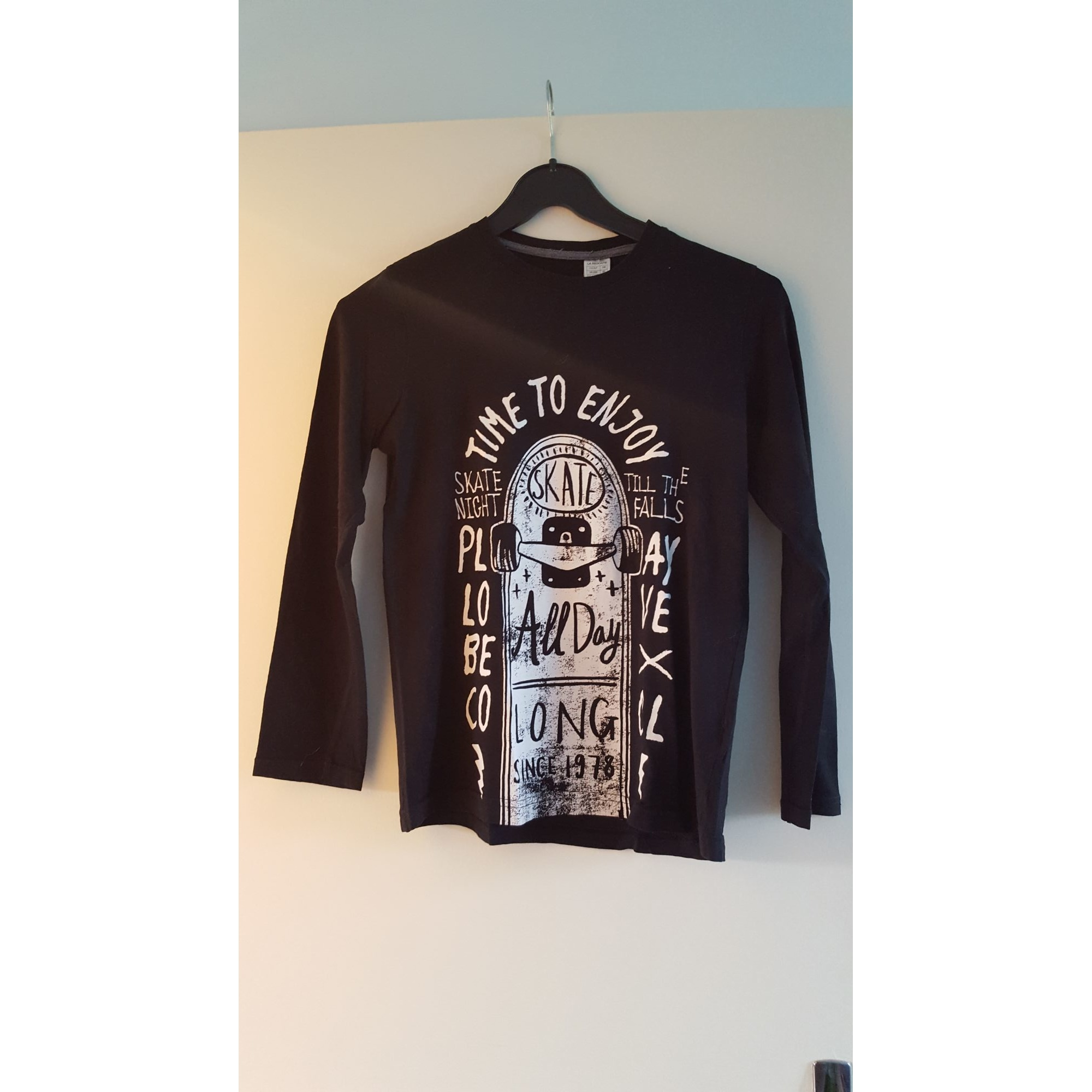 Tee-shirt LA REDOUTE Noir