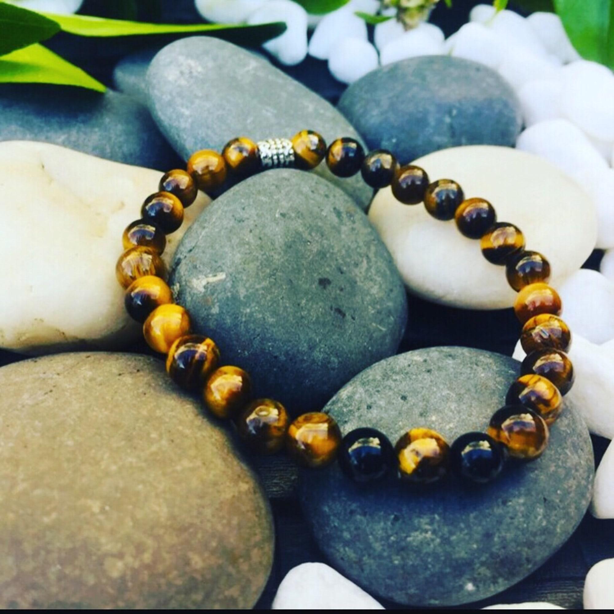 Bracelet MC ART&CREATIONS perle marron