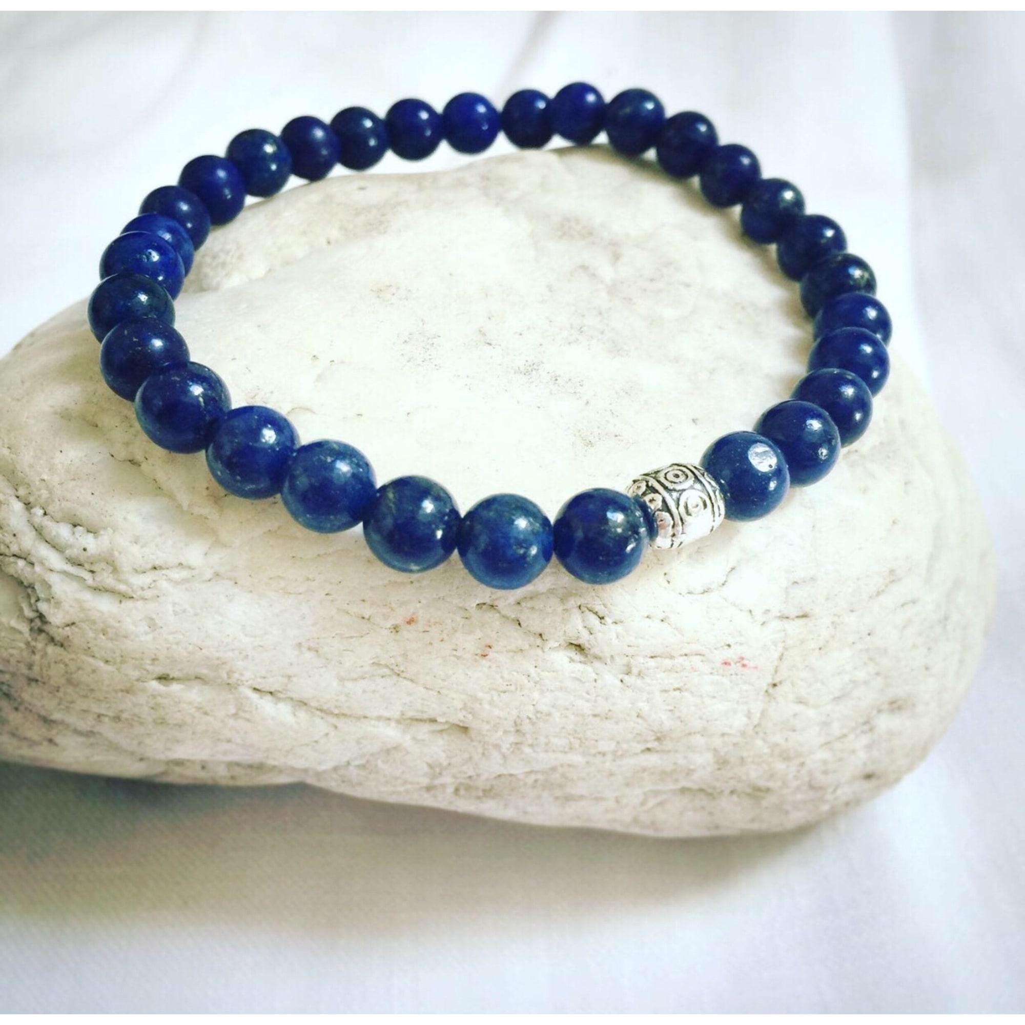 Bracelet MC ART & CREATIONS perle bleu