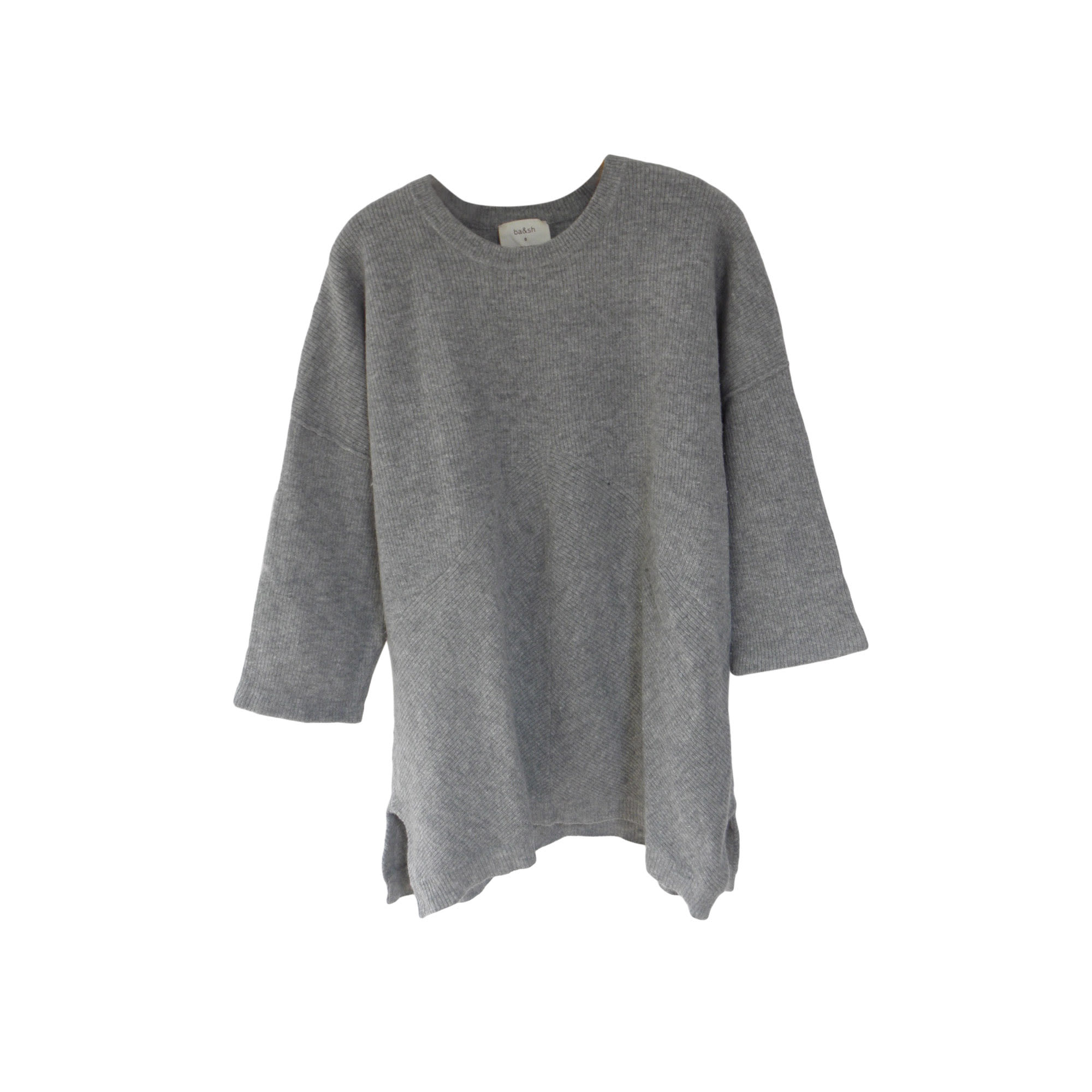 Pull BA&SH Gris, anthracite