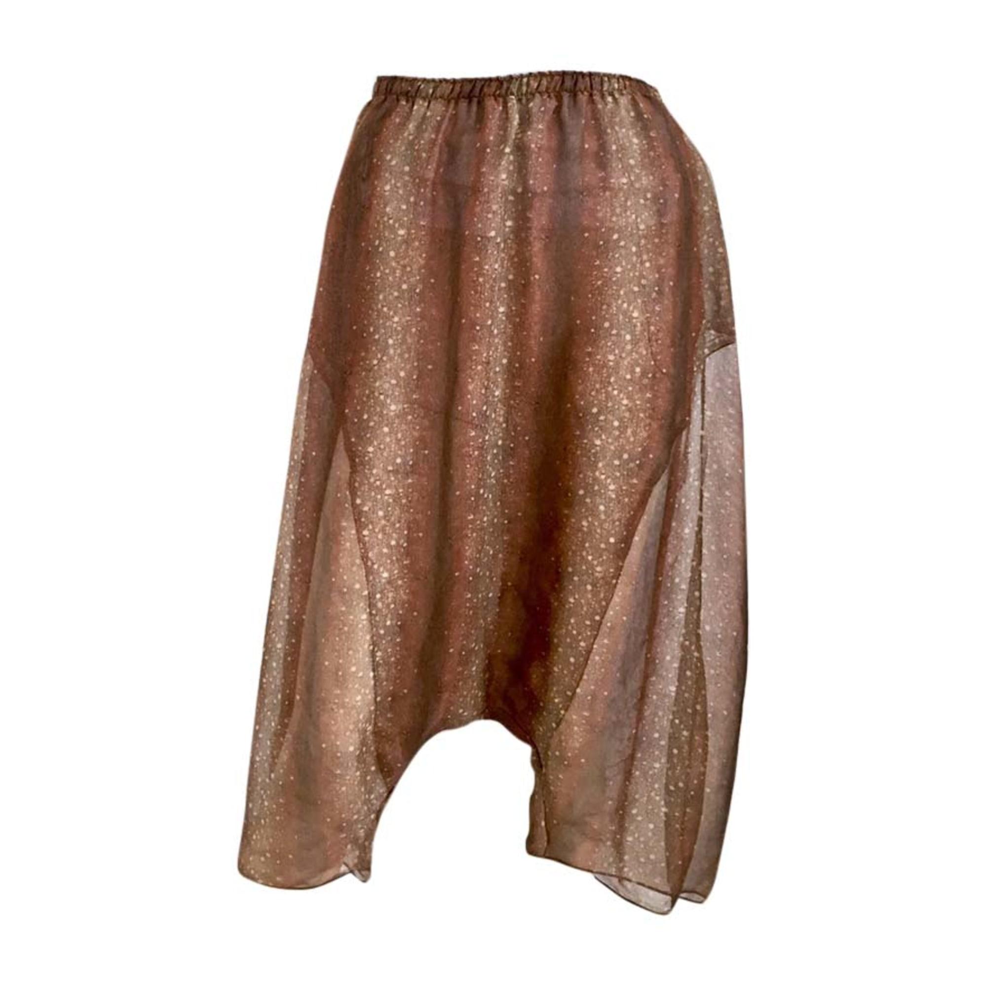 Wickelhose YVES SAINT LAURENT Nuances de brun