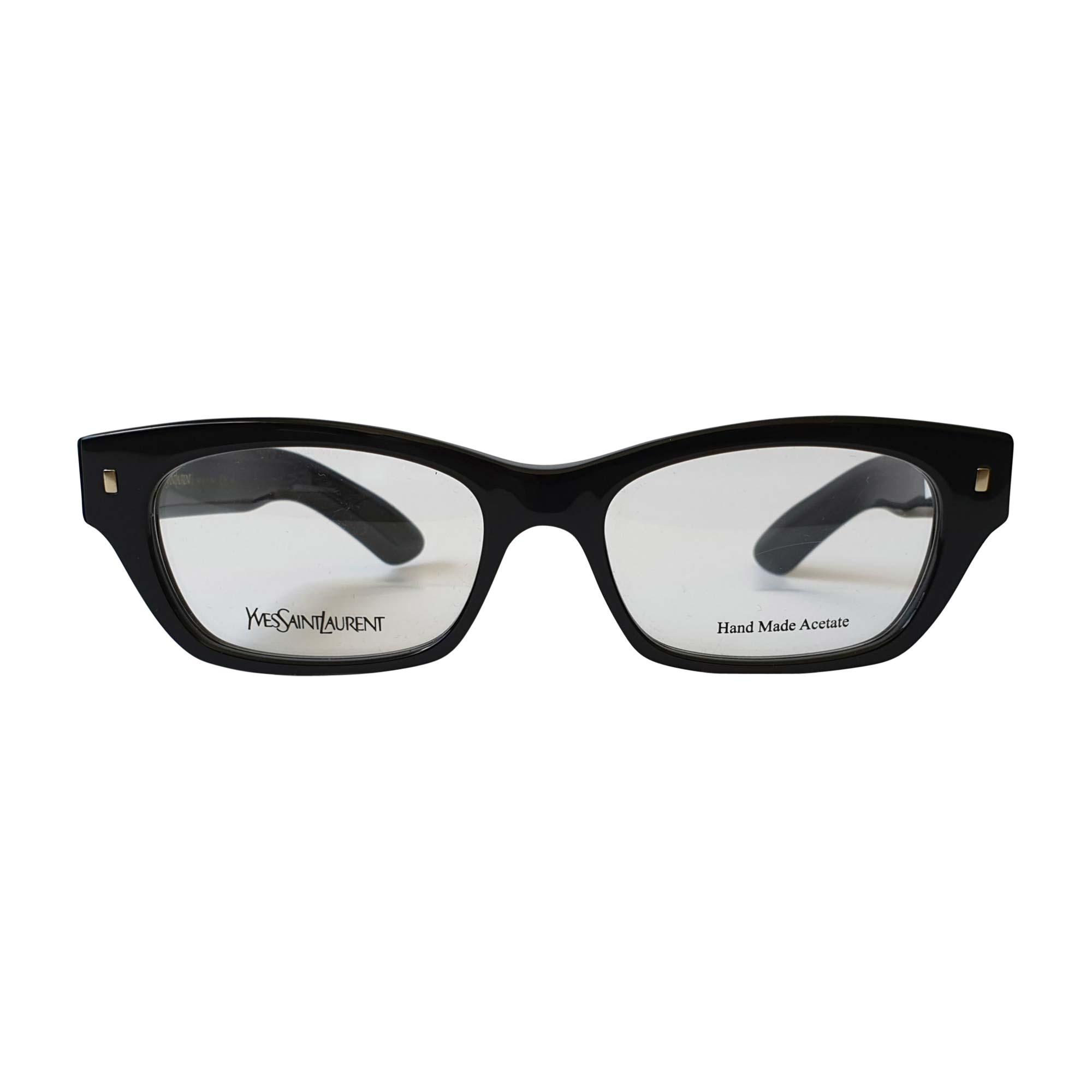 Eyeglass Frames YVES SAINT LAURENT Black