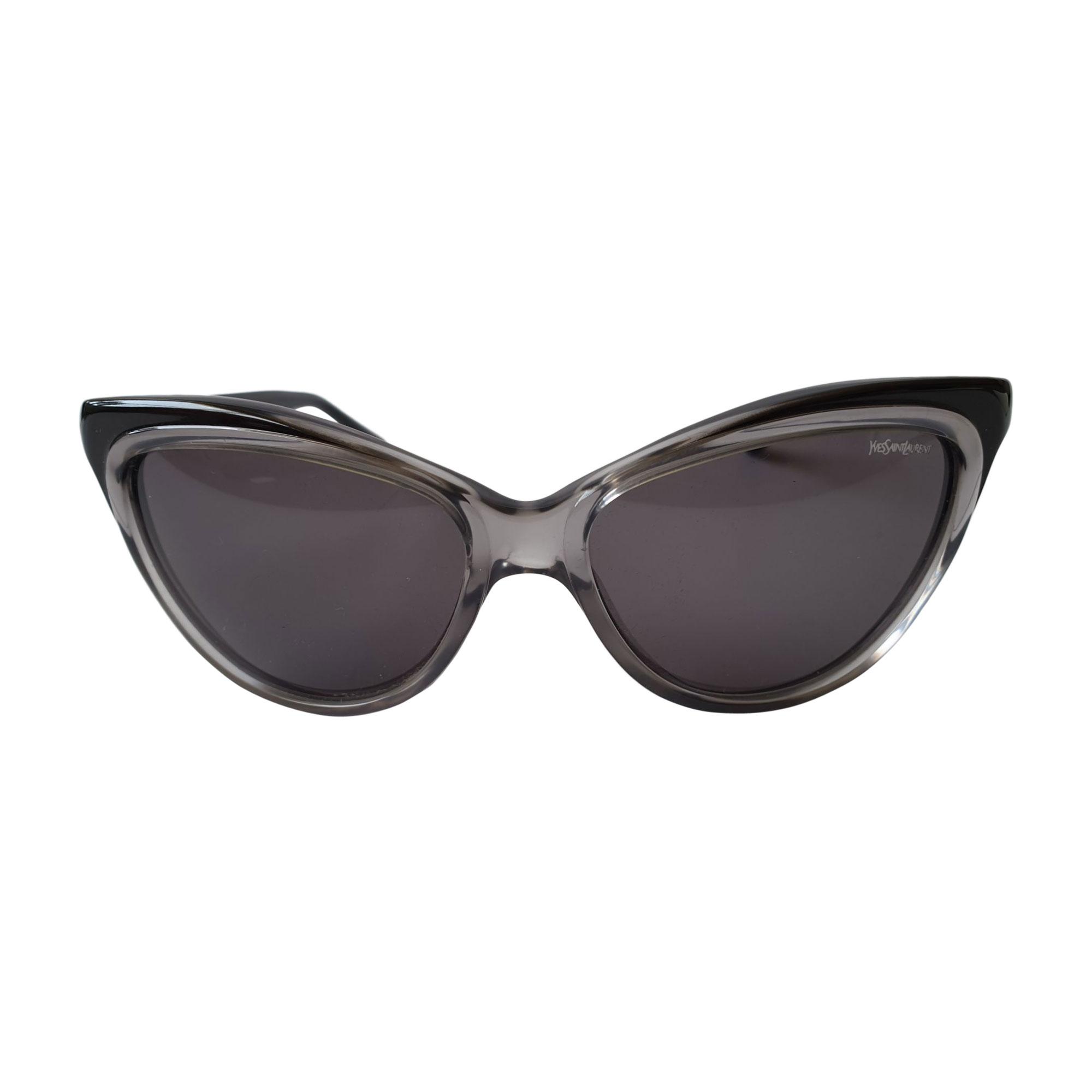Sunglasses YVES SAINT LAURENT Gray, charcoal