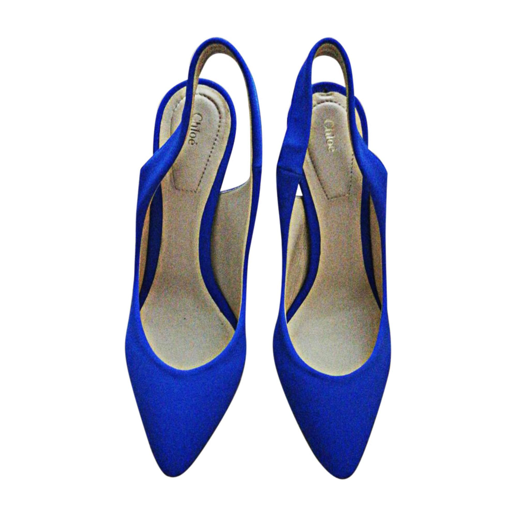 Escarpins CHLOÉ Bleu, bleu marine, bleu turquoise