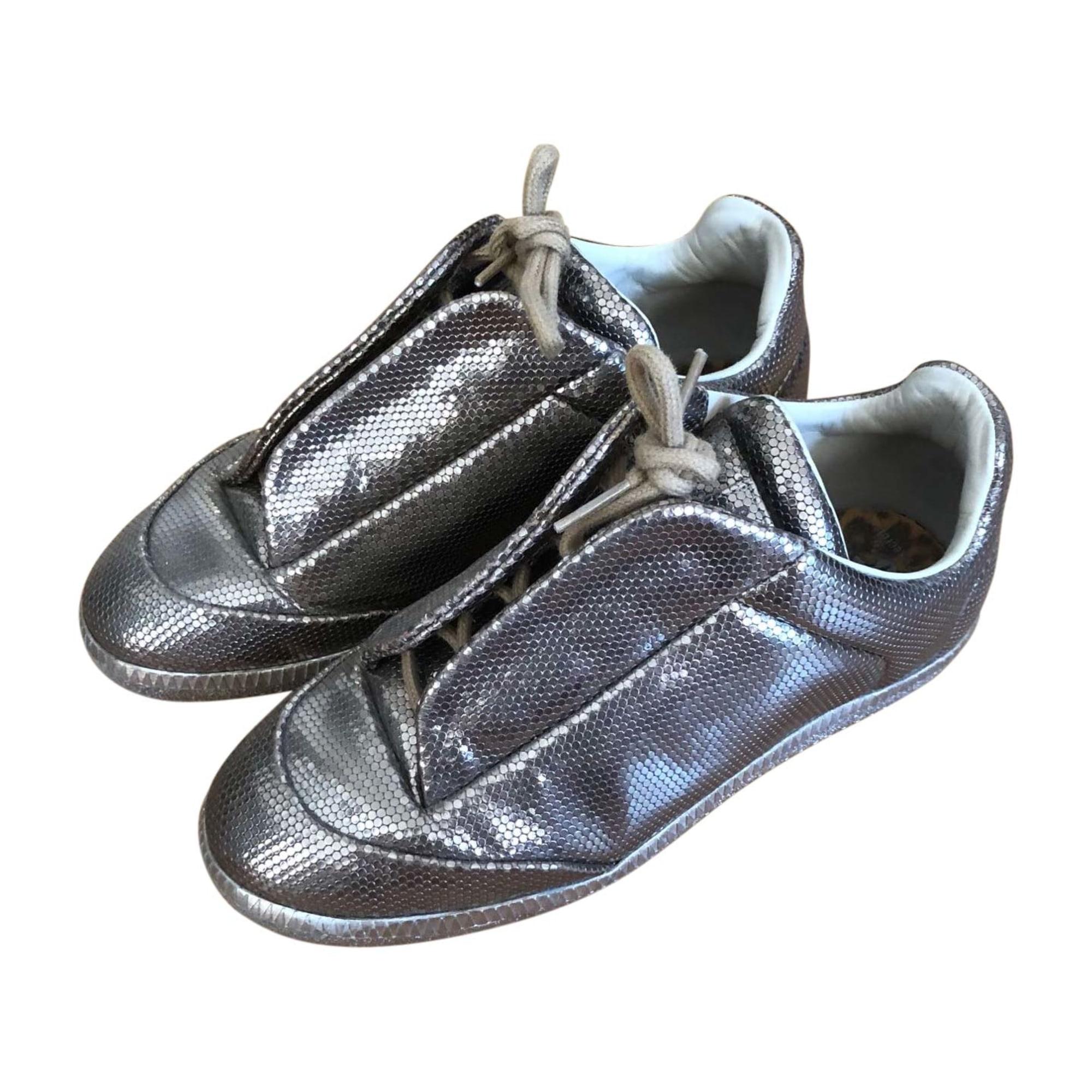 Sneakers MAISON MARTIN MARGIELA Golden, bronze, copper