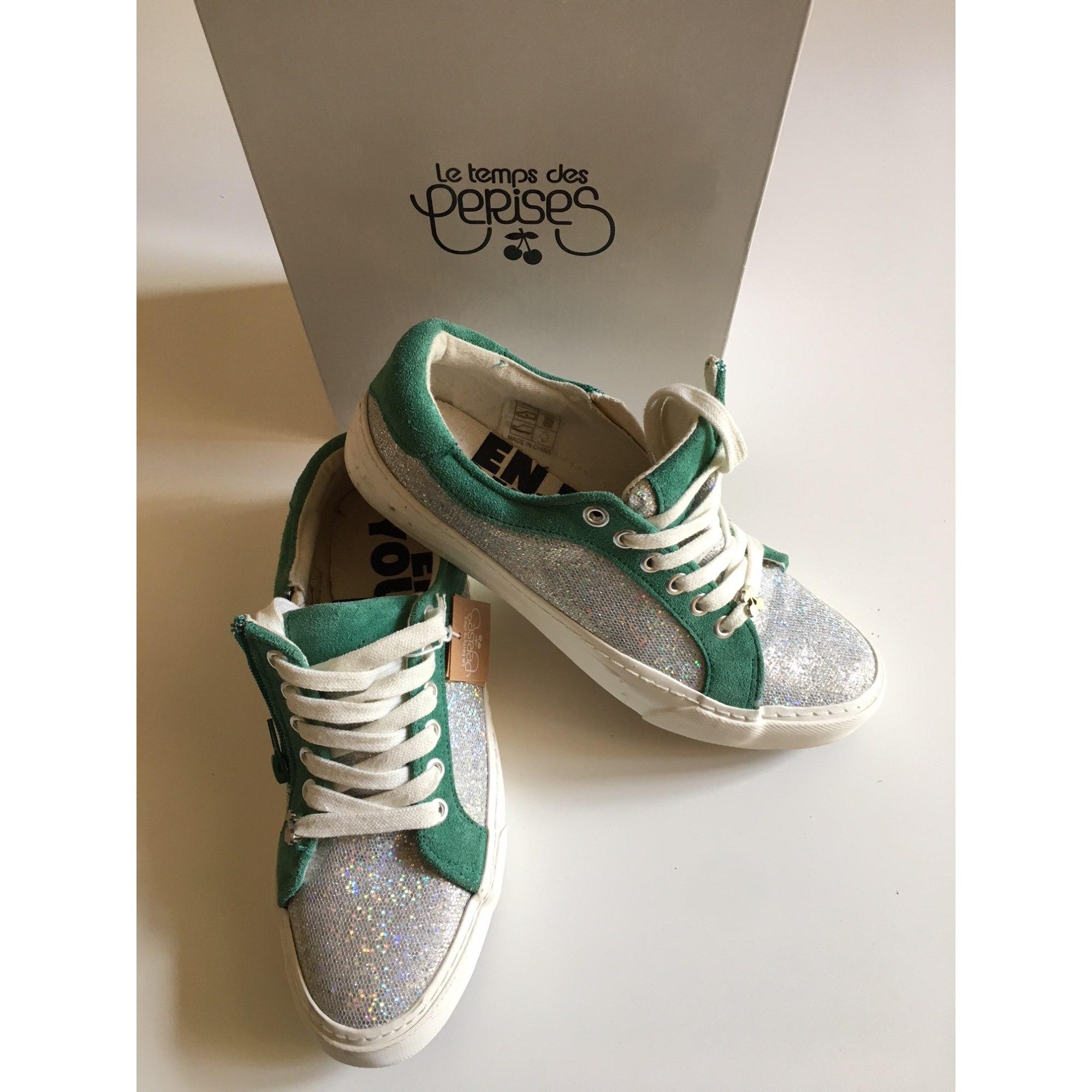 Sneakers LE TEMPS DES CERISES Green