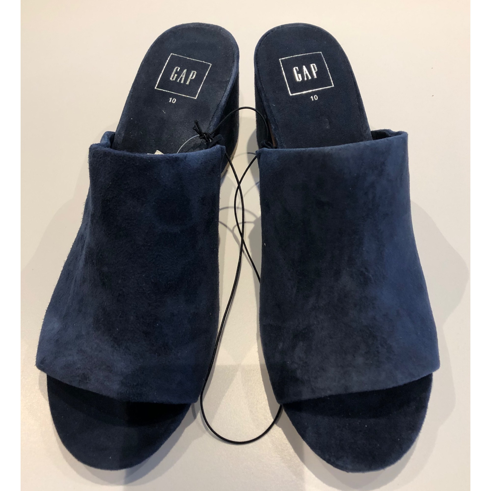 Mules GAP Bleu, bleu marine, bleu turquoise
