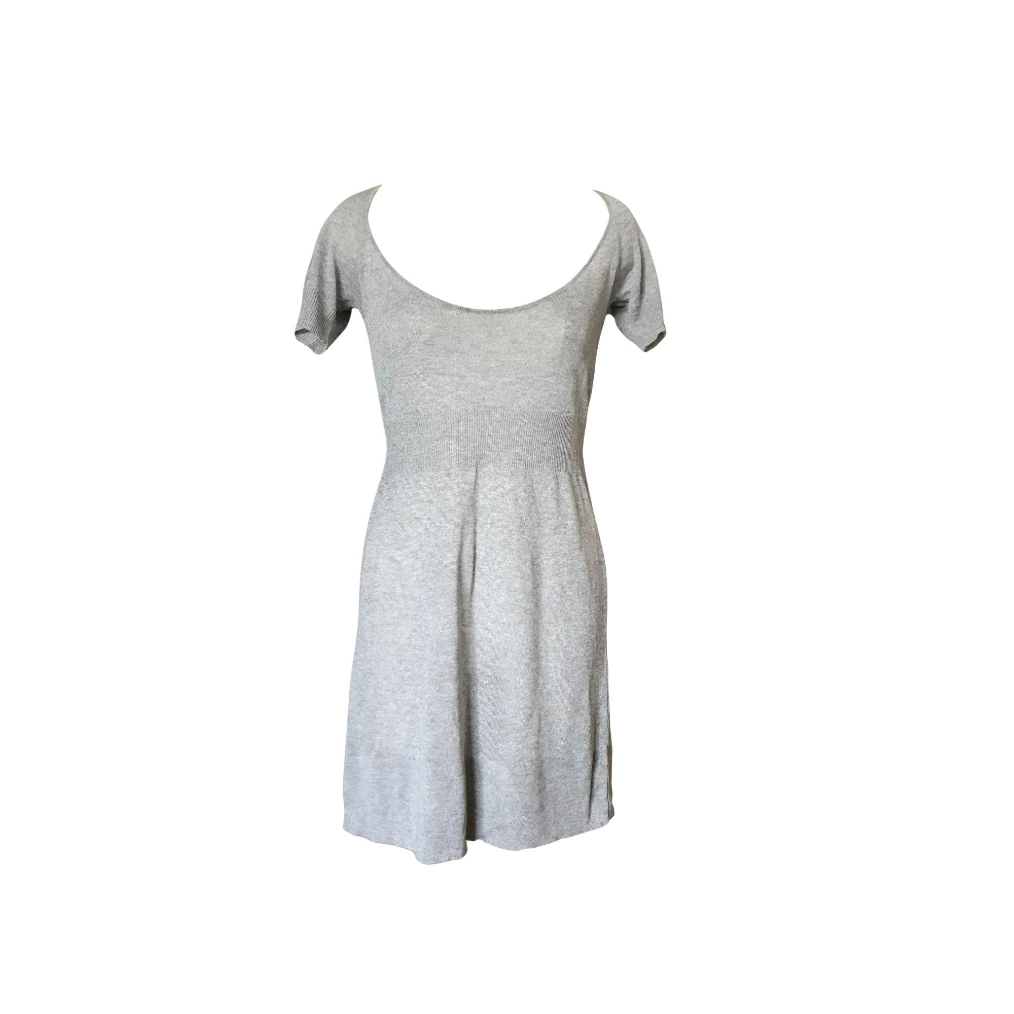 Robe tunique PINKO Gris, anthracite