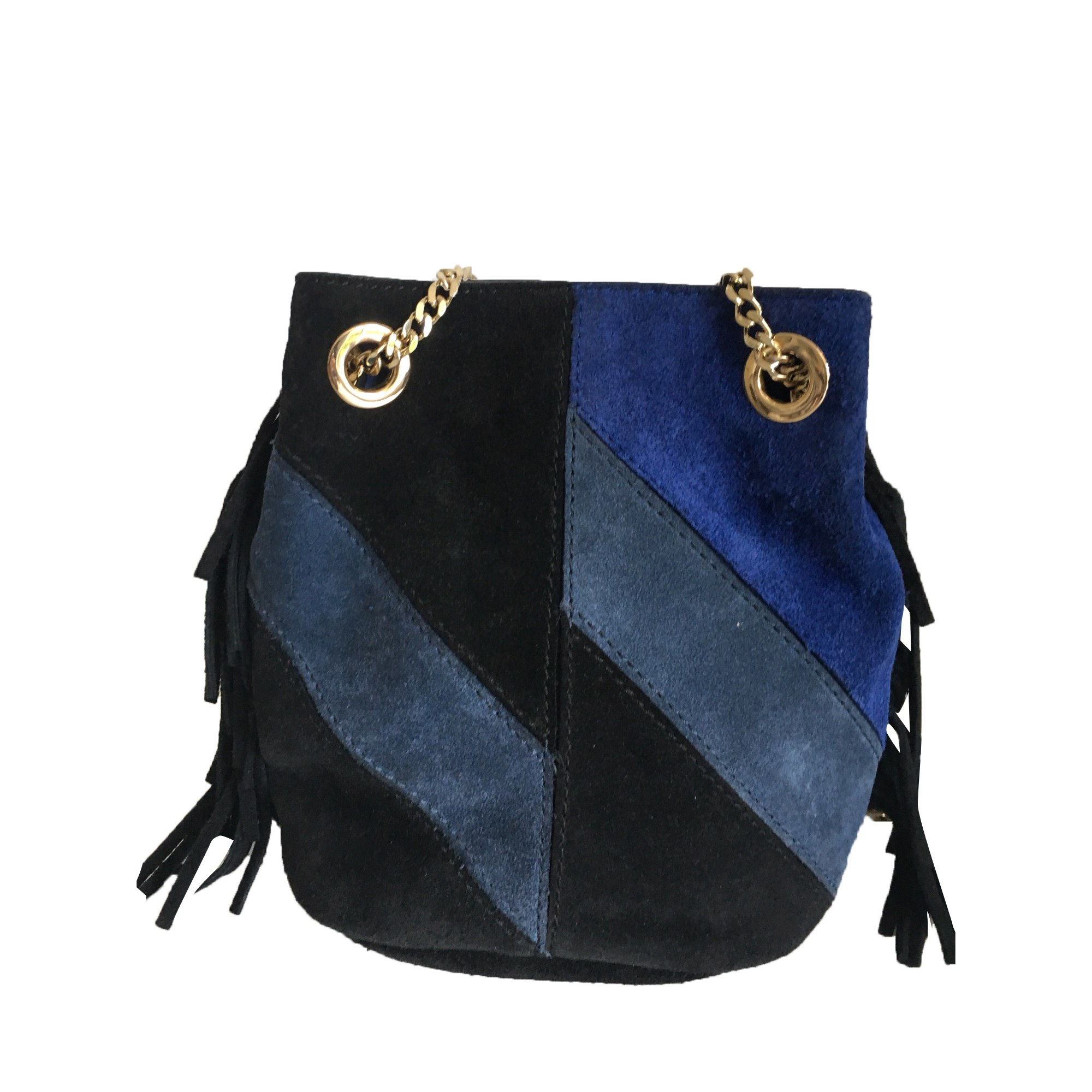 Leather Handbag MAJE Multicolor