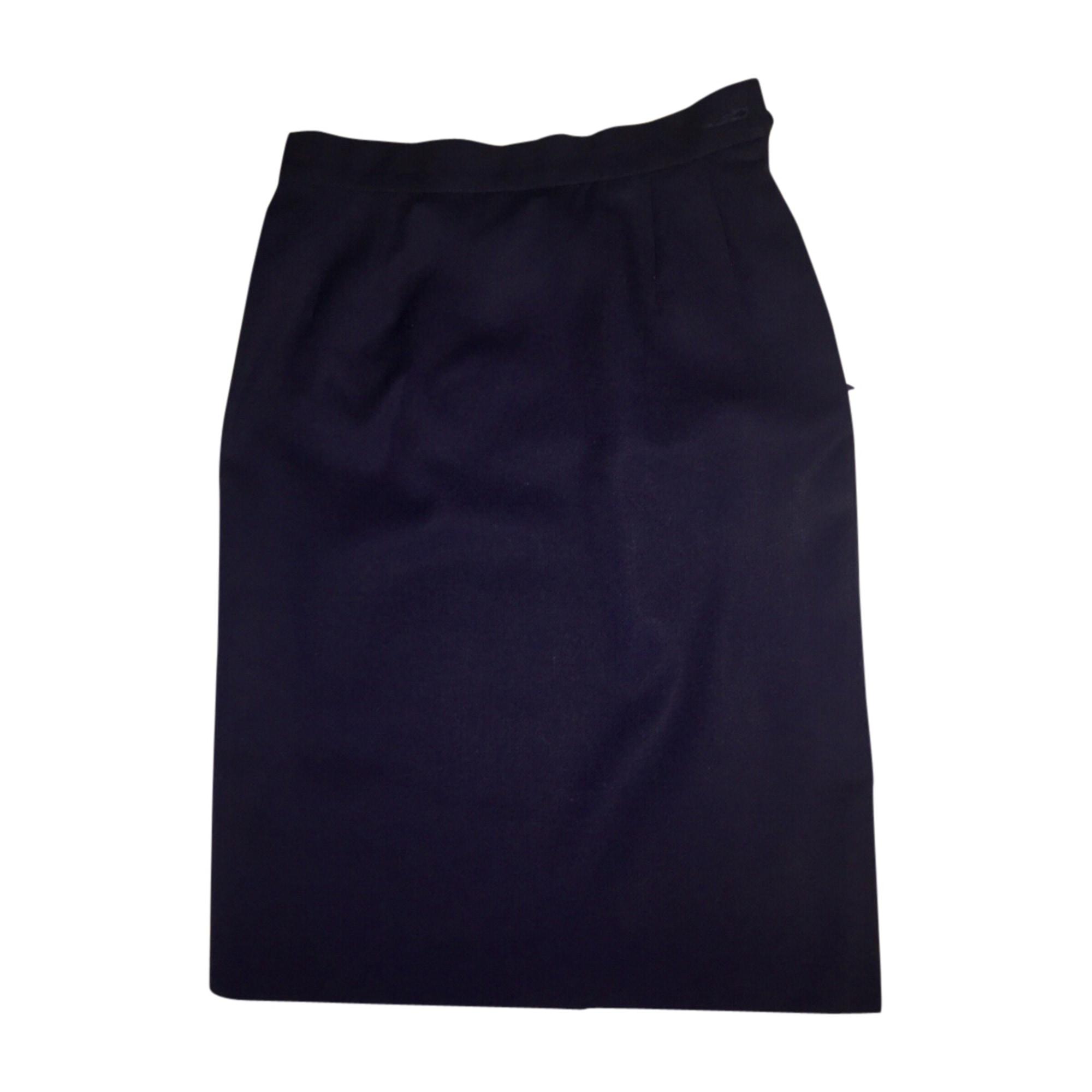 Midi Skirt YVES SAINT LAURENT Blue, navy, turquoise