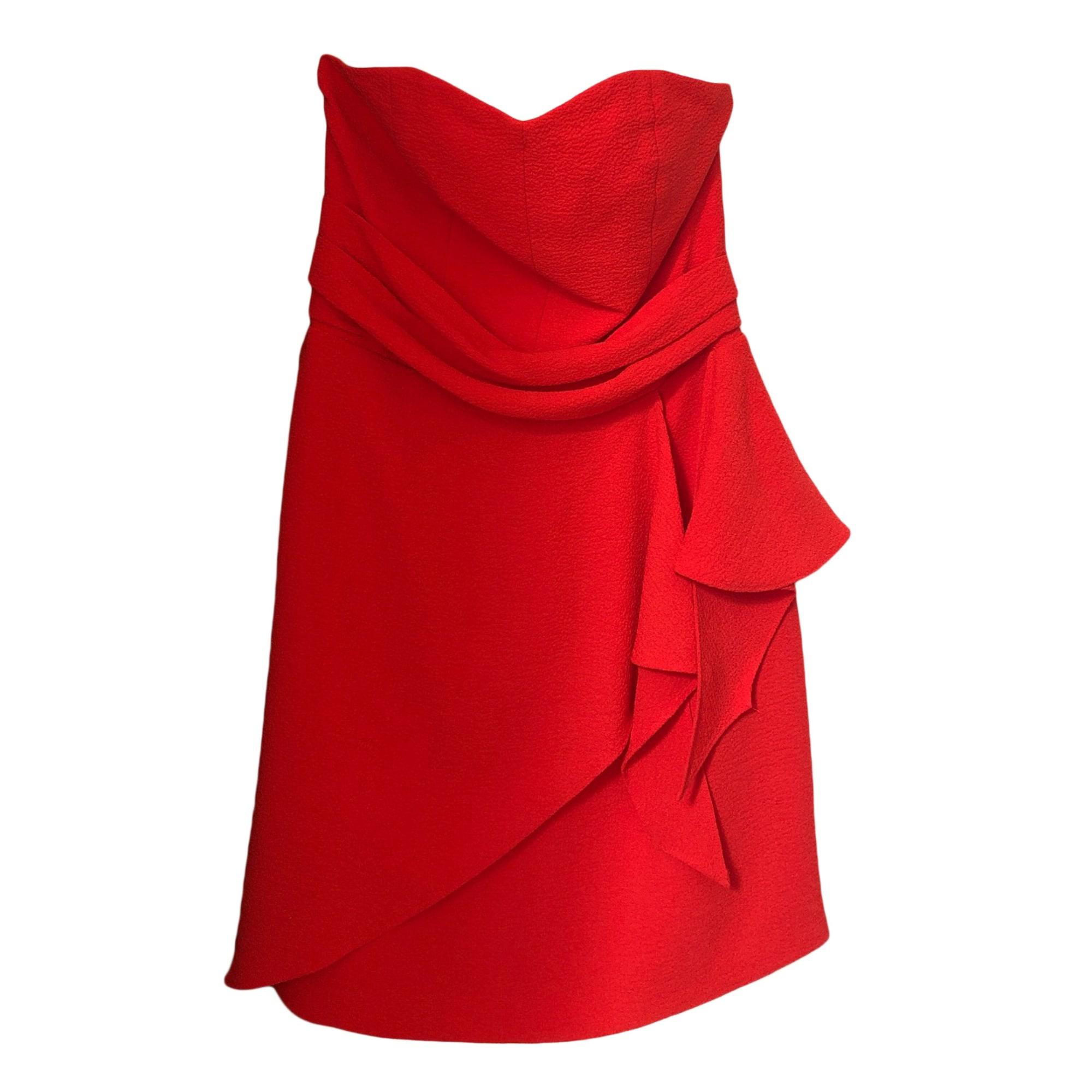 08f2494594ae4 Robe bustier SÉZANE 38 (M, T2) corail/ rouge orangé - 9183396