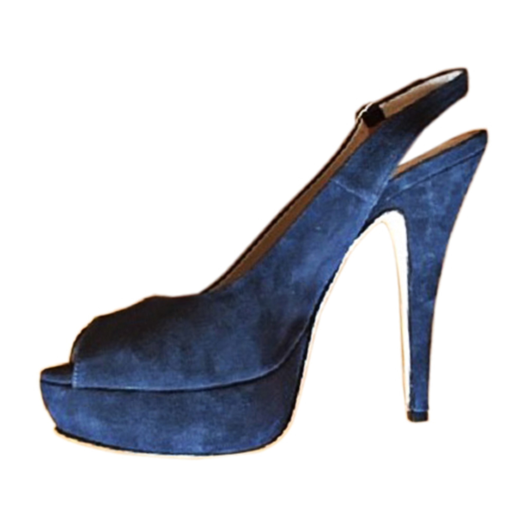 Heeled Sandals CERRUTI 1881 Blue, navy, turquoise