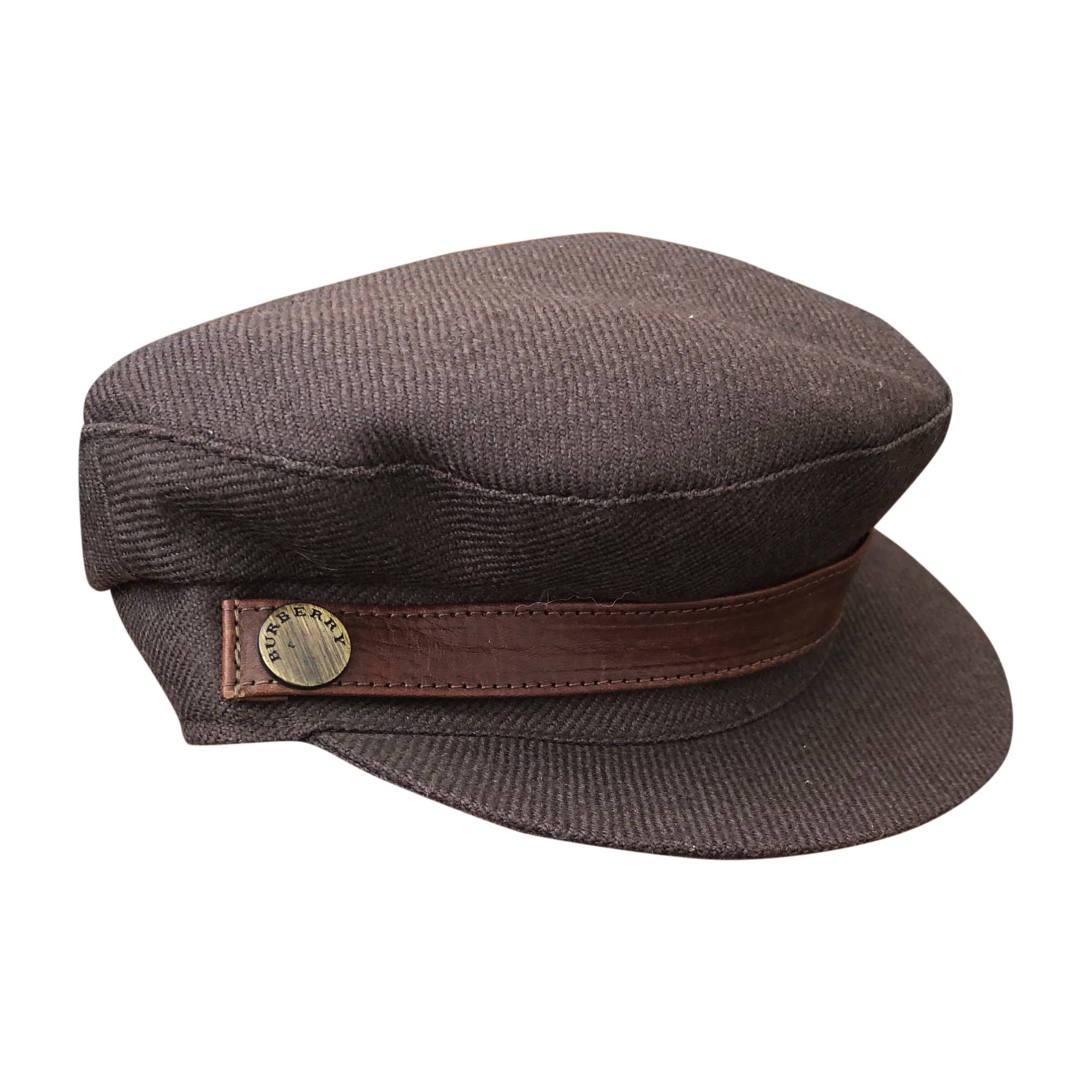 Cap BURBERRY Brown