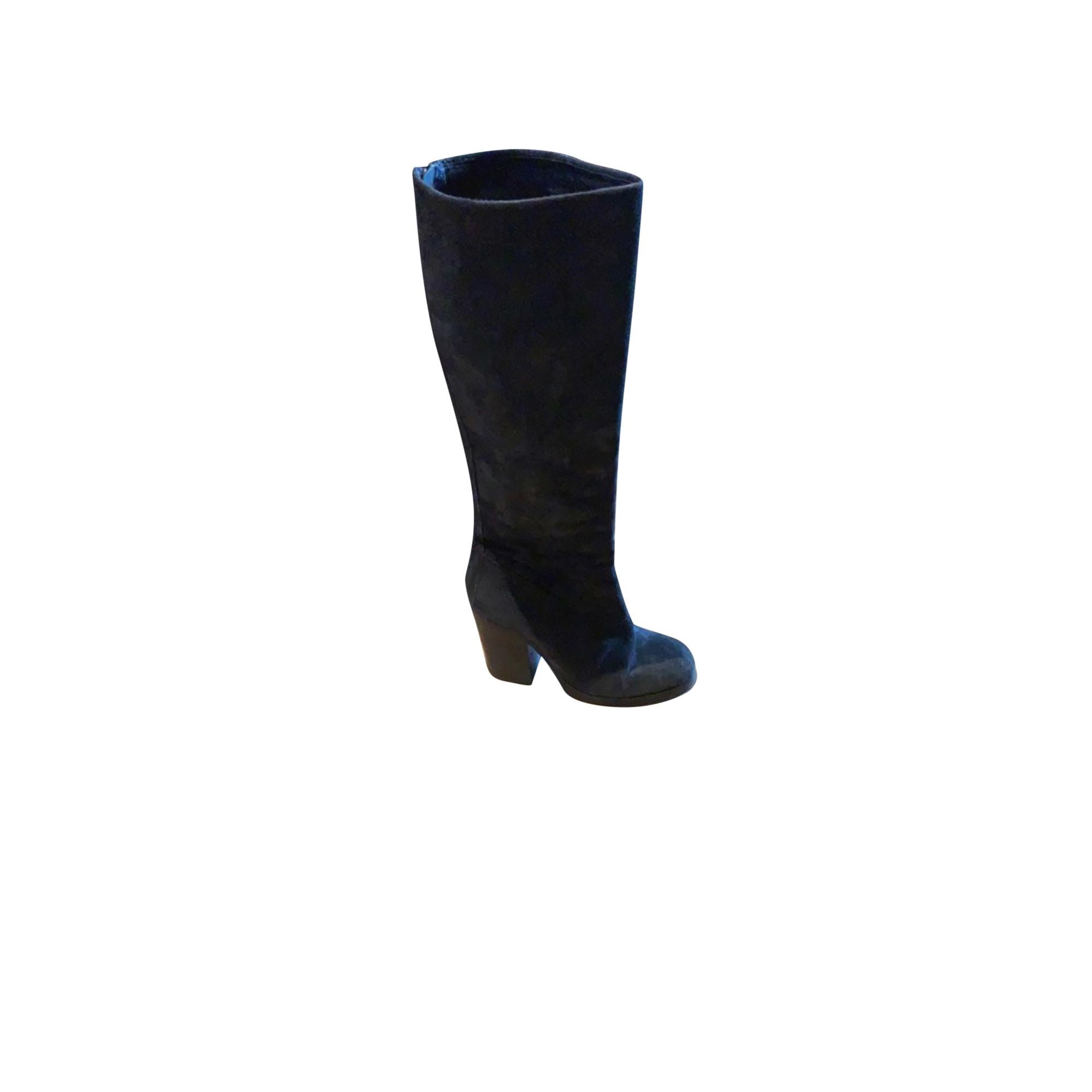 High Heel Boots ASH Black